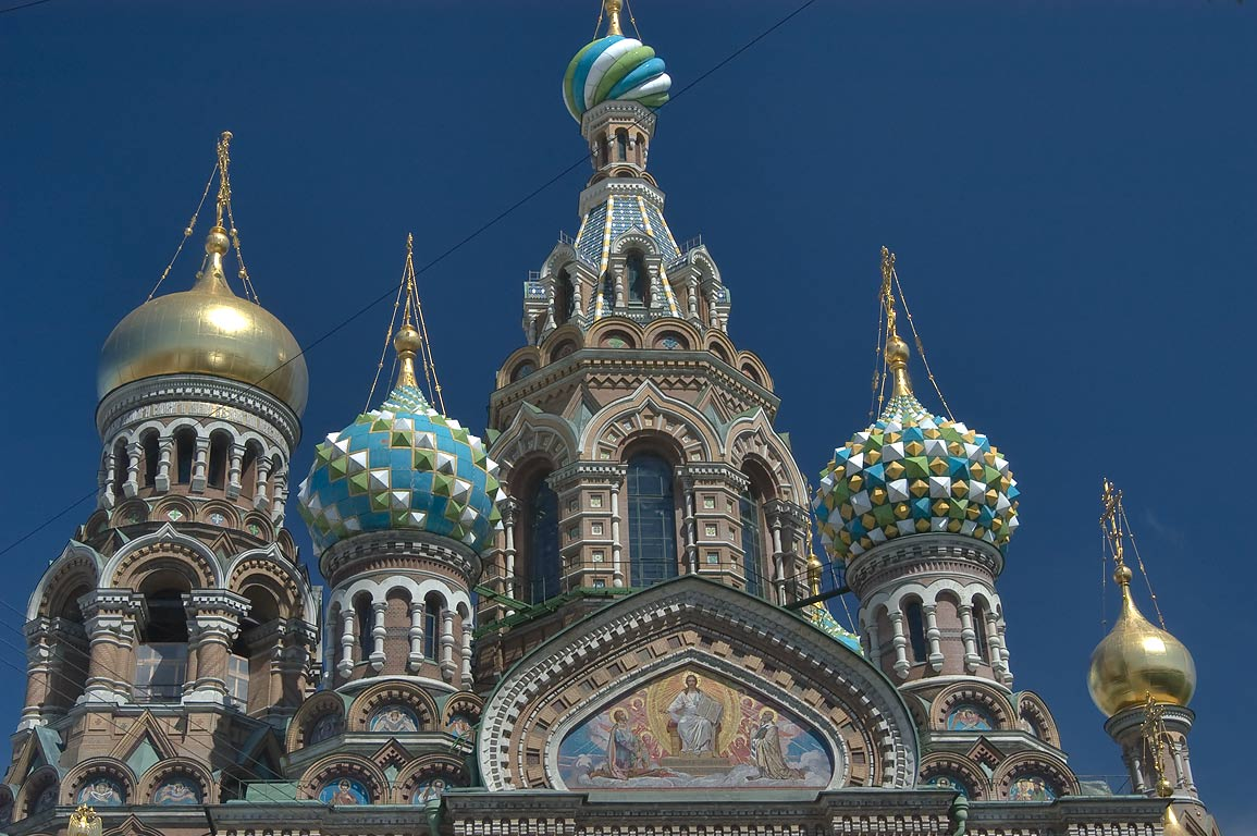 Church of Savior on Blood. St.Petersburg, Russia