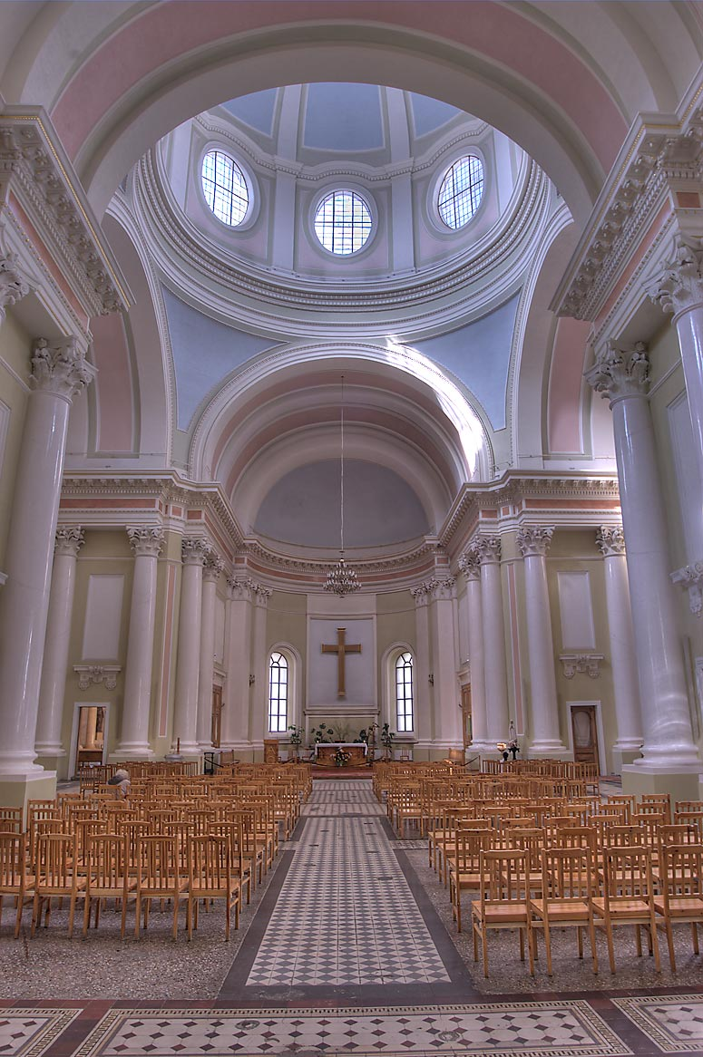 Interior of St.Catherine Roman Catholic Church at...Nevsky Prospect. St.Petersburg, Russia