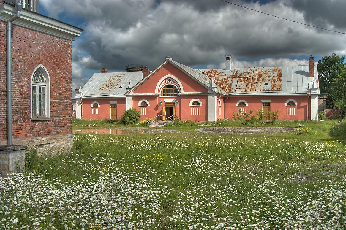 Stables (Koniushni) in Alexander Park of Pushkin...a suburb of St.Petersburg, Russia