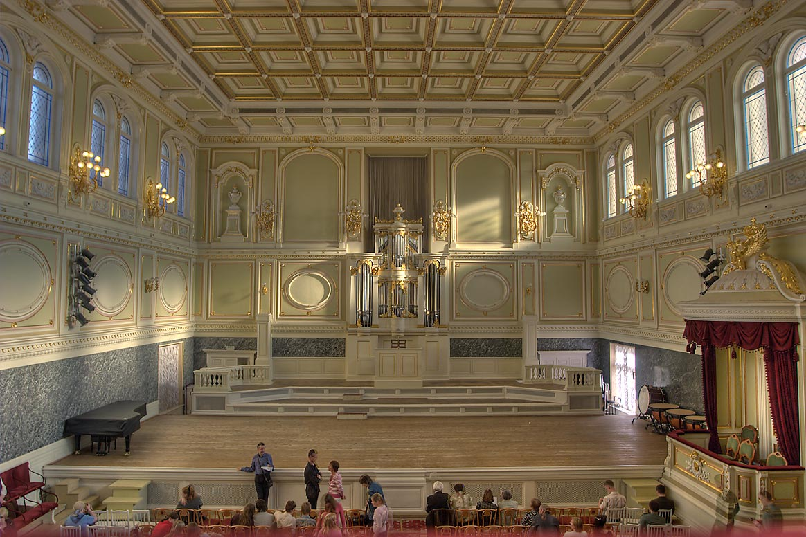 Kapella Concert Hall. St.Petersburg, Russia