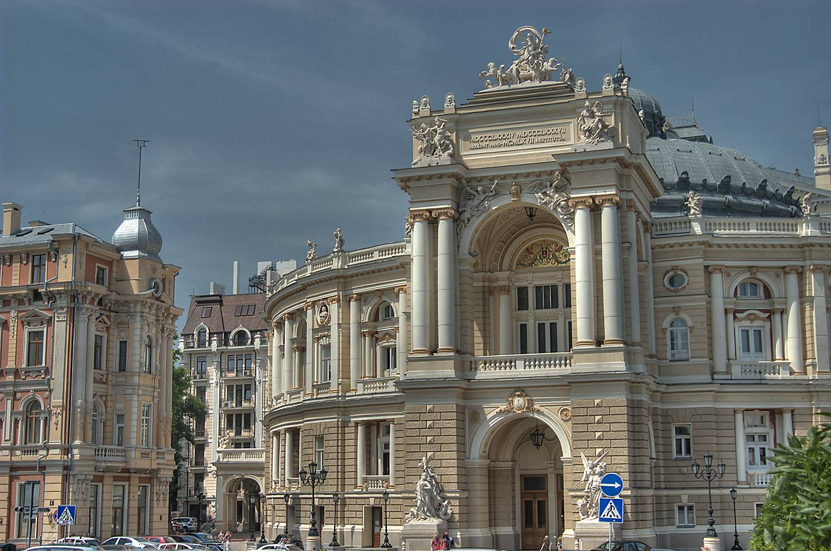 National Academic Opera and Ballet Theatre. Odessa, Ukraine