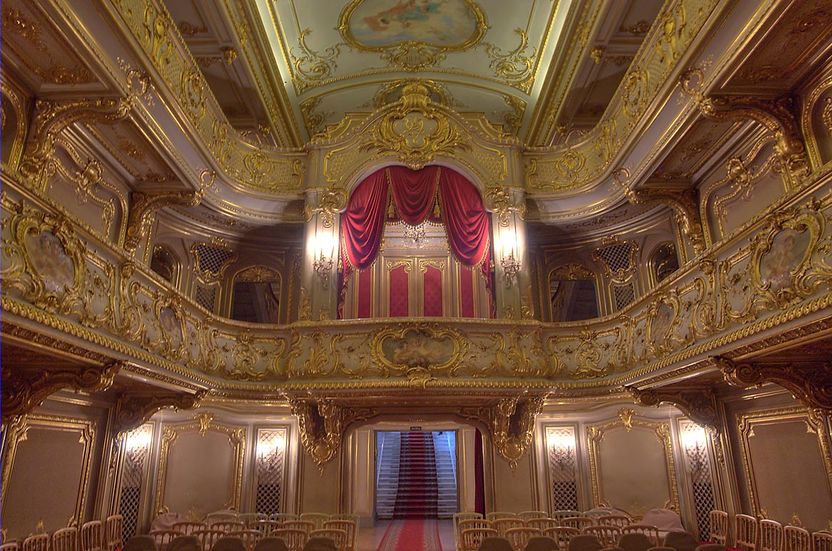 Theater (back side) of Yusupov Palace. St.Petersburg, Russia