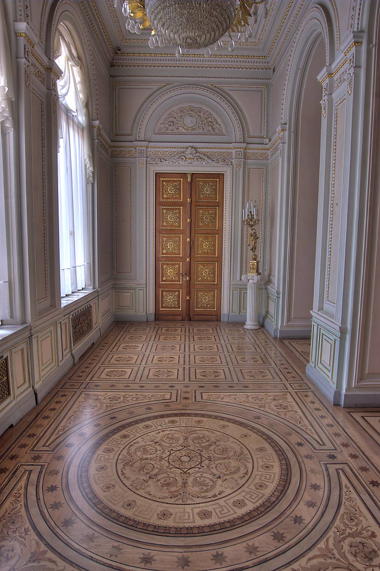 Small room in Yusupov Palace. St.Petersburg, Russia