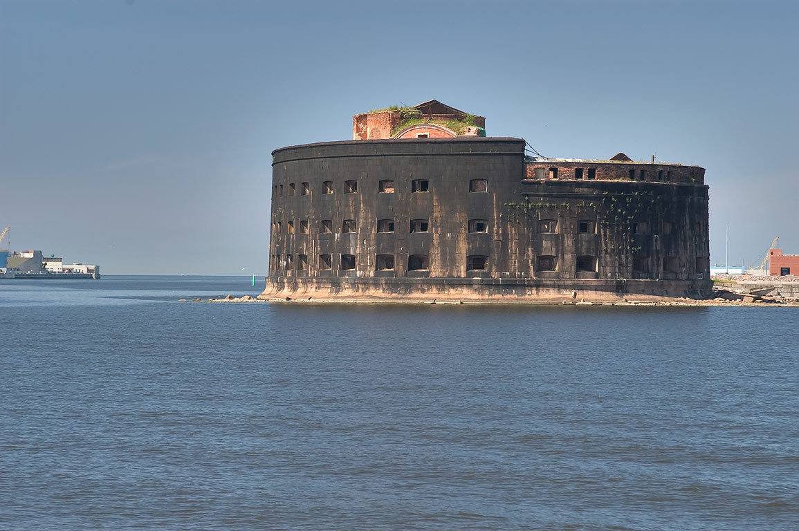 Fort Alexander (Chumnoy). Kronstadt (part of St.Petersburg), Russia