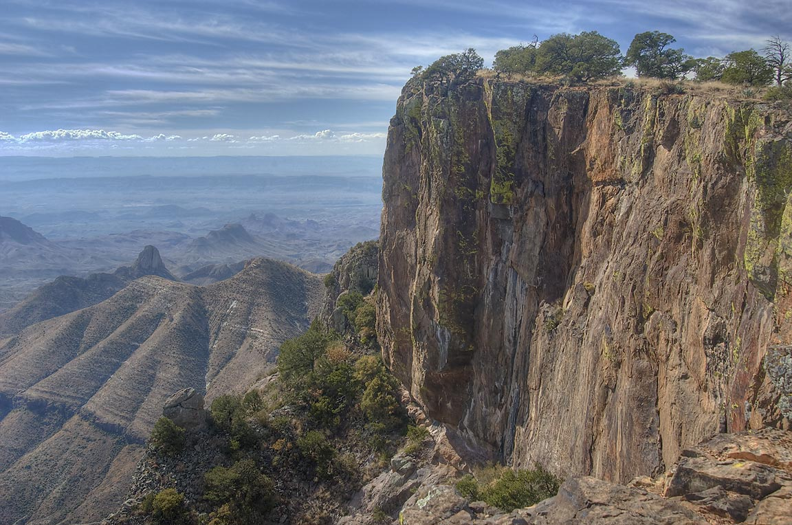 Cliffs of South Rim. Big Bend National Park
