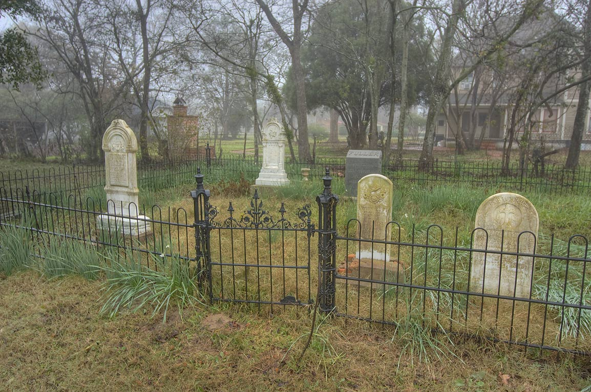 Small cemetery of Church of the Epiphany at 501 East Gregg St.. Calvert, Texas