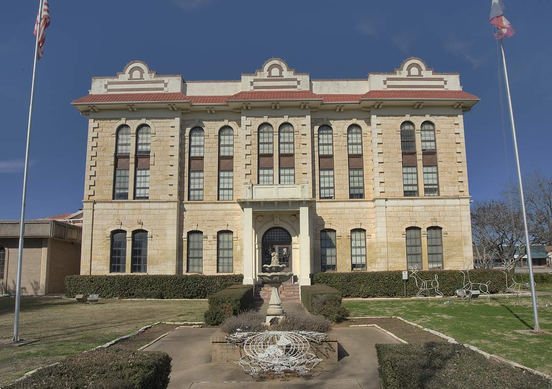 Robinson County Courthouse. Franklin, Texas
