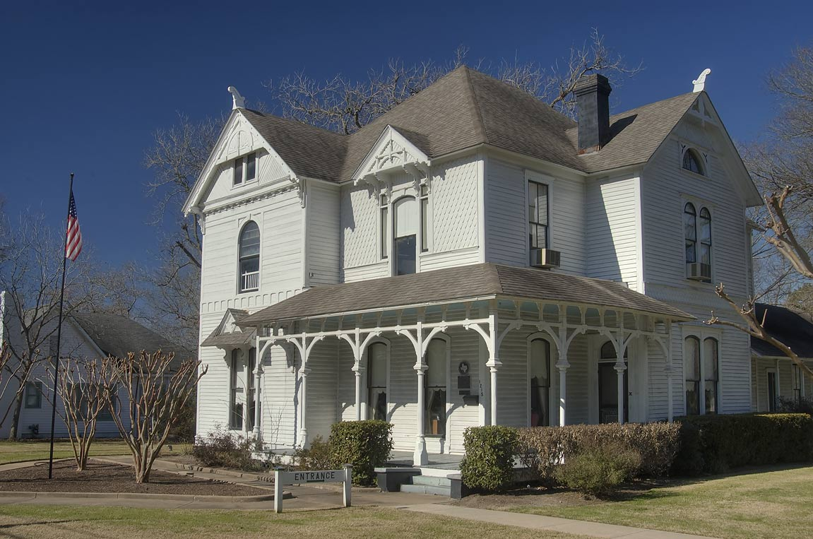 Horlock House History Center at 1215 East Washington St.. Navasota, Texas