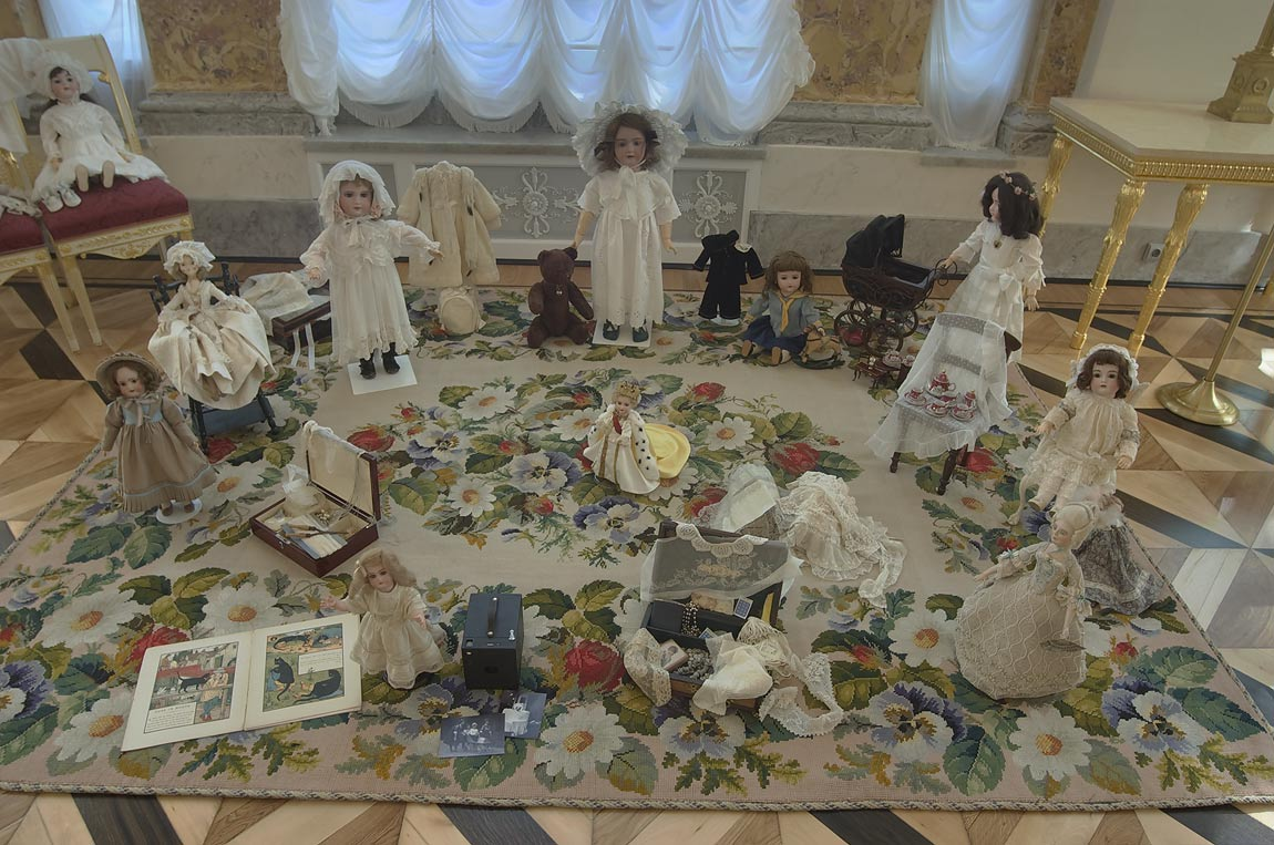 Children room in Alexander Palace in Pushkin...Selo) south from St.Petersburg, Russia