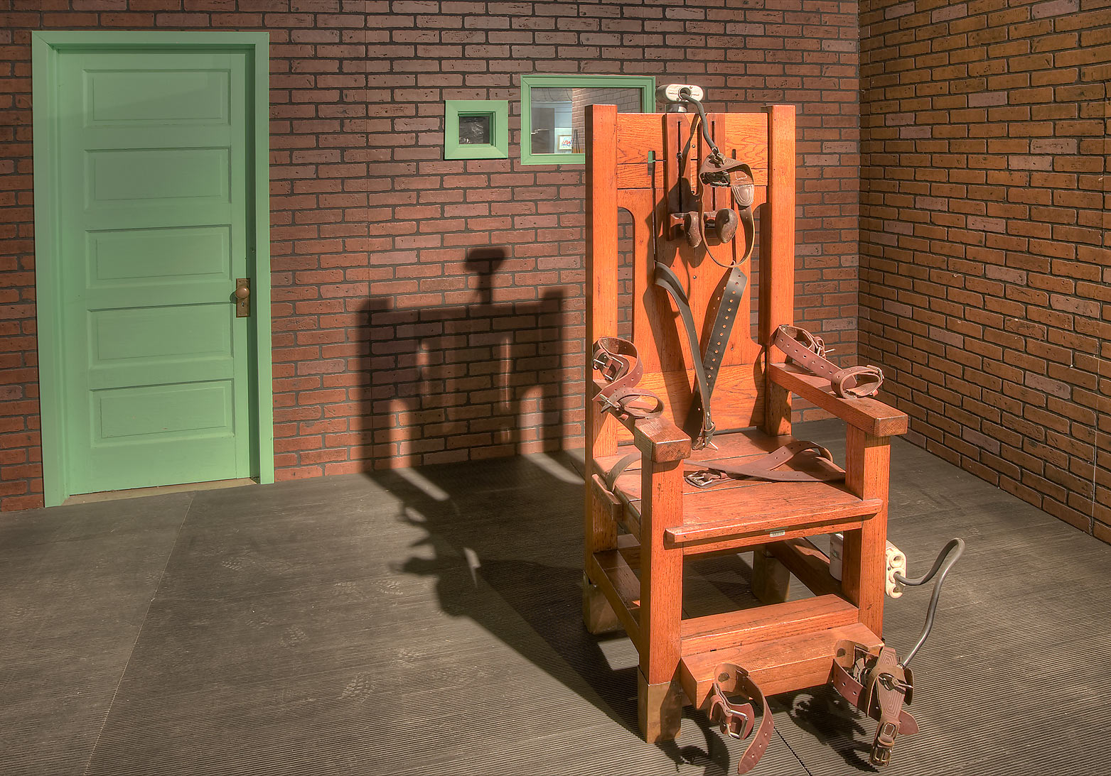 Electric chair old sparky electric chair in