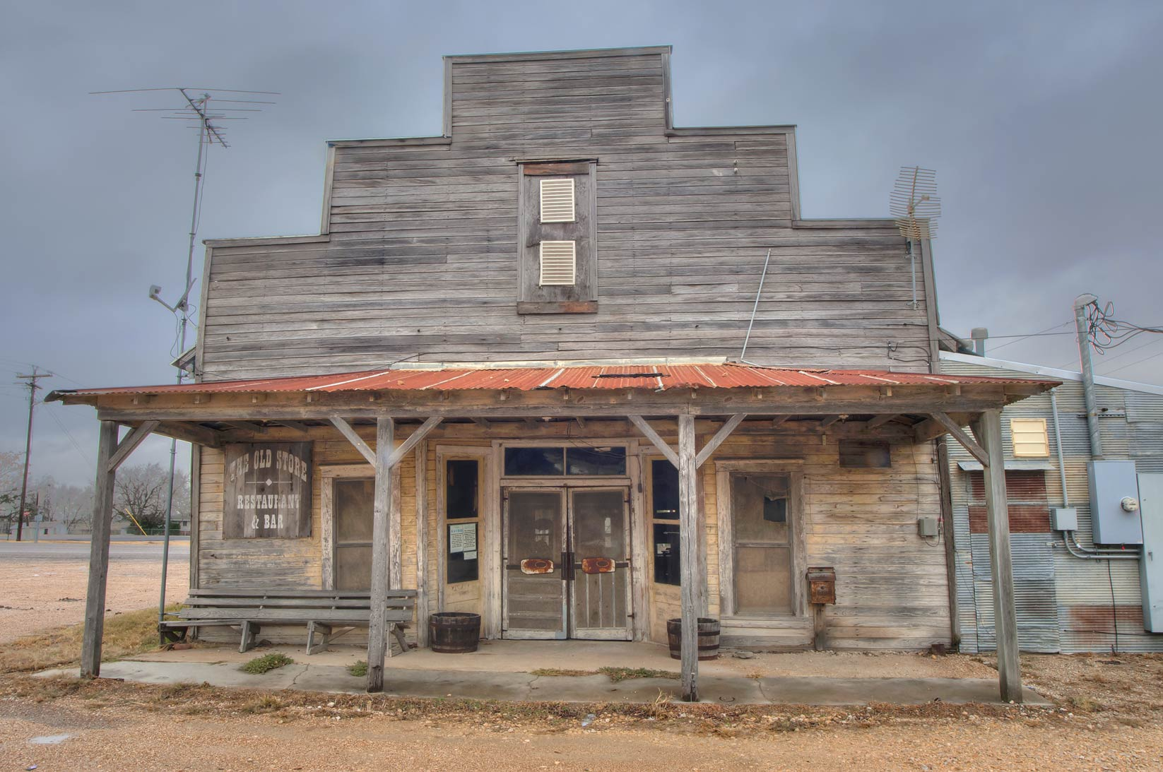 Restaurant at Rd. 320 in Westphalia. Texas