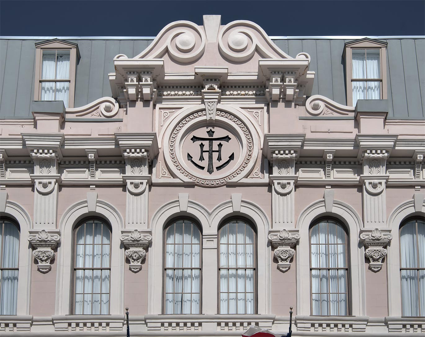 Tremont House hotel at 2300 Mechanic St. in Strand Historic District. Galveston, Texas