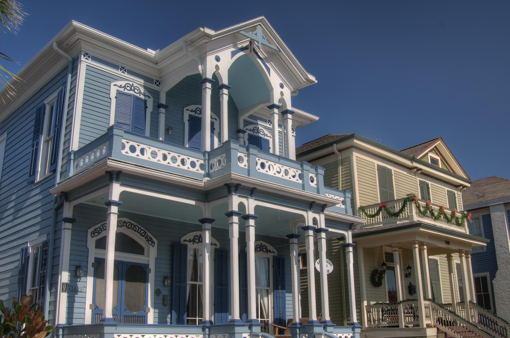 I. Lovenberg (Chase ) house (1877) at 1412 Market...Historic District. Galveston, Texas