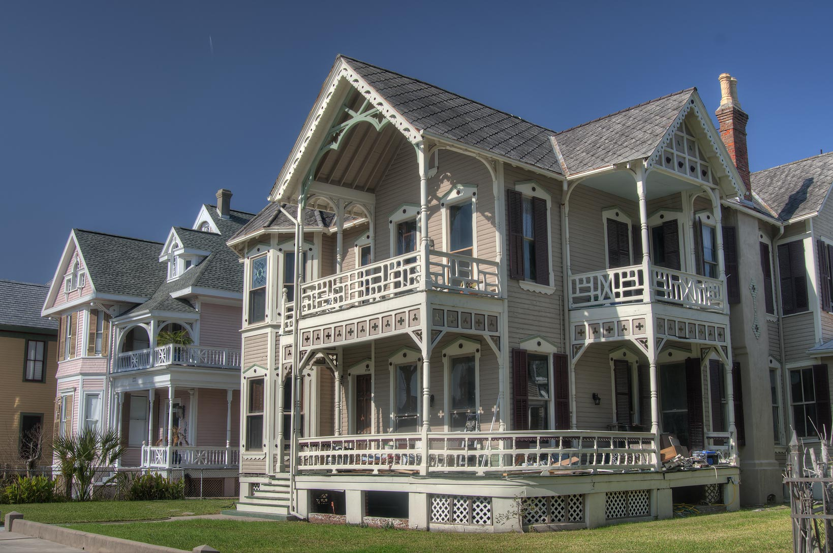 N. Grumbach House (1887) at 1718 Church St. in...Historic District. Galveston, Texas
