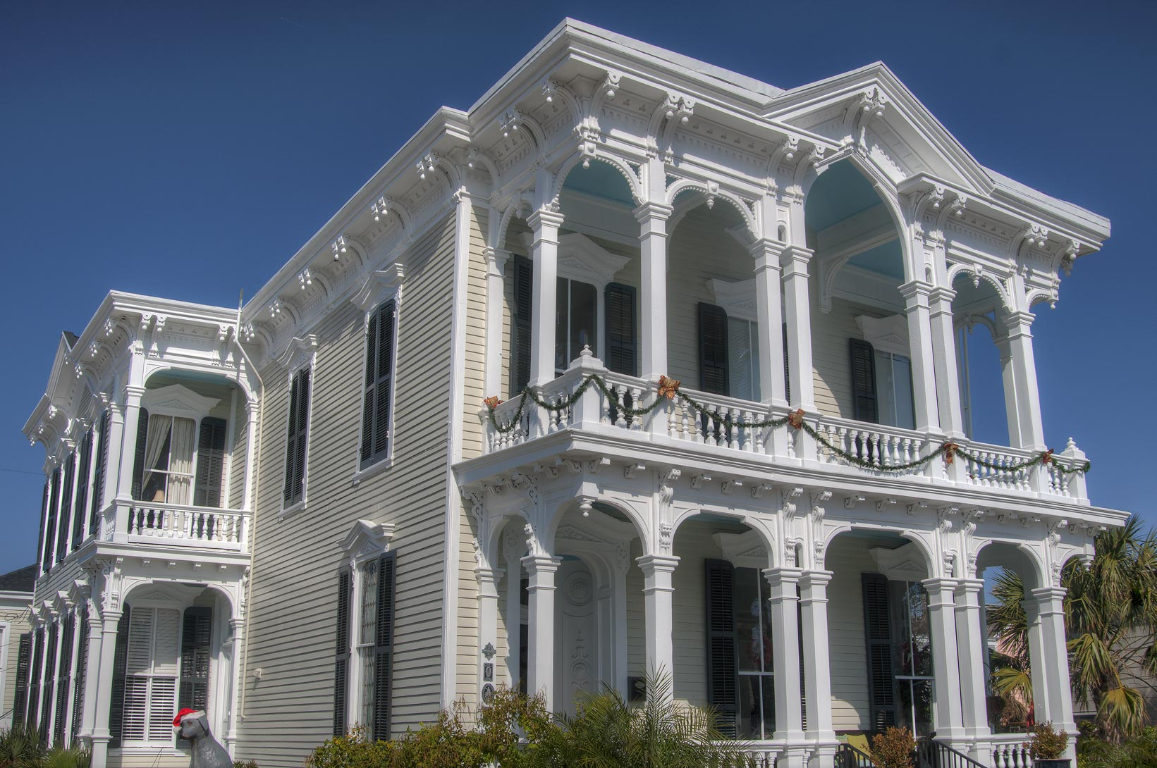 Lemuel C. Burr house (1876) at 1228 Sealy St., a...Historic District. Galveston, Texas