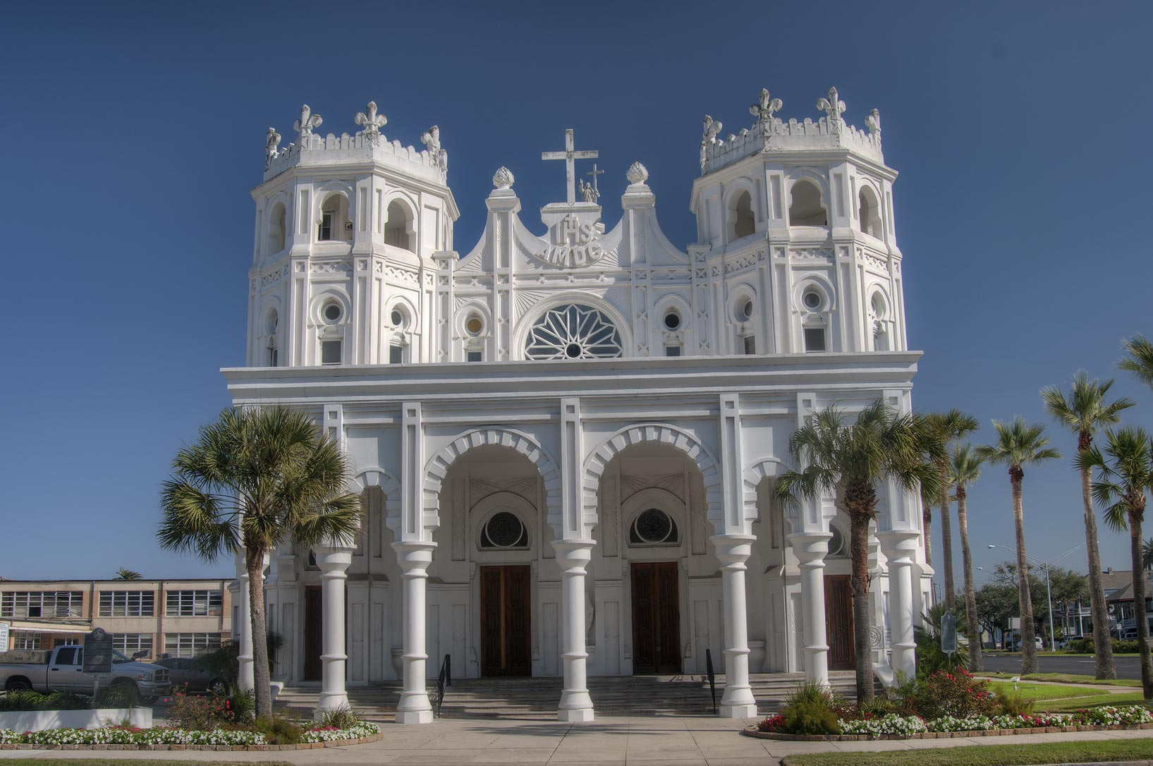 Sacred Heart Catholic Church (1903-3) at 1302...Columbus Blvd.. Galveston, Texas