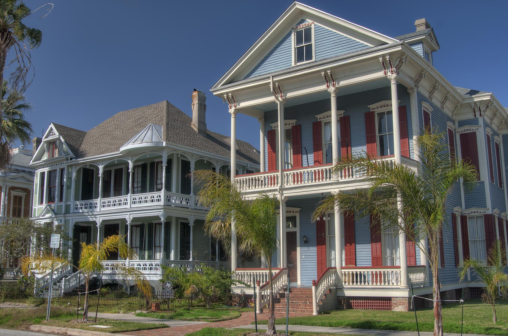 Maxwell Maas House (1885) at 1802 Sealy St., a...Historic District. Galveston, Texas