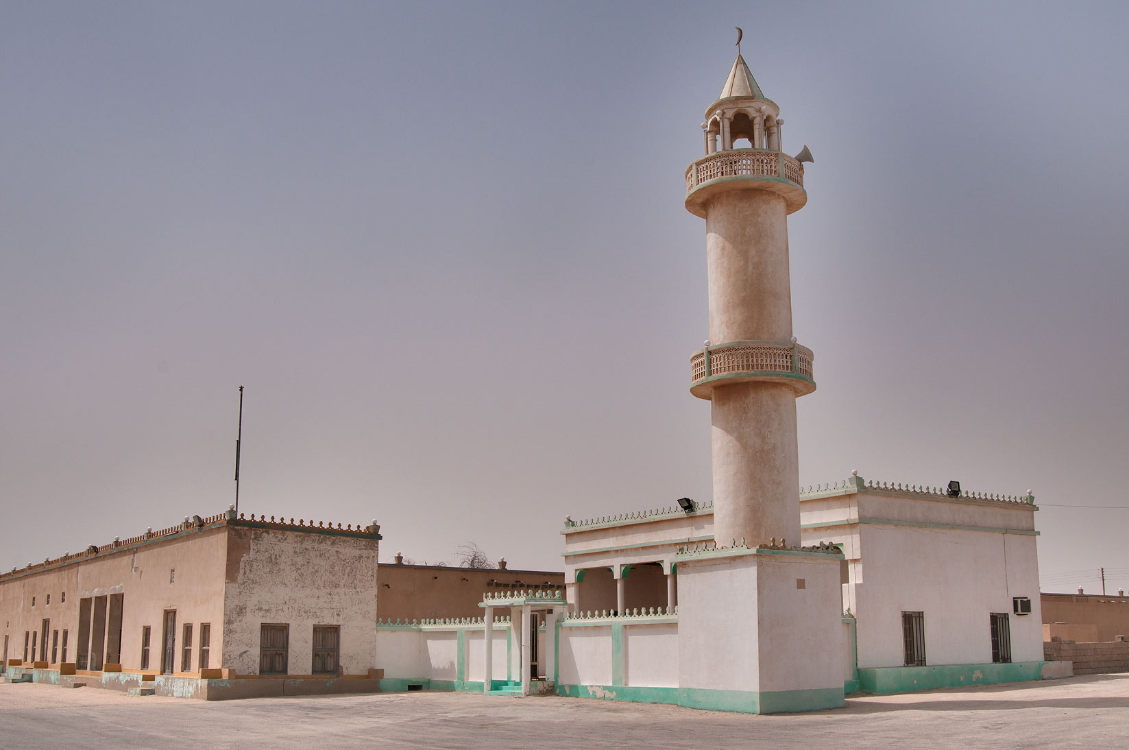Mosque in Trainah Garden, 50 miles south-west from Doha. Qatar