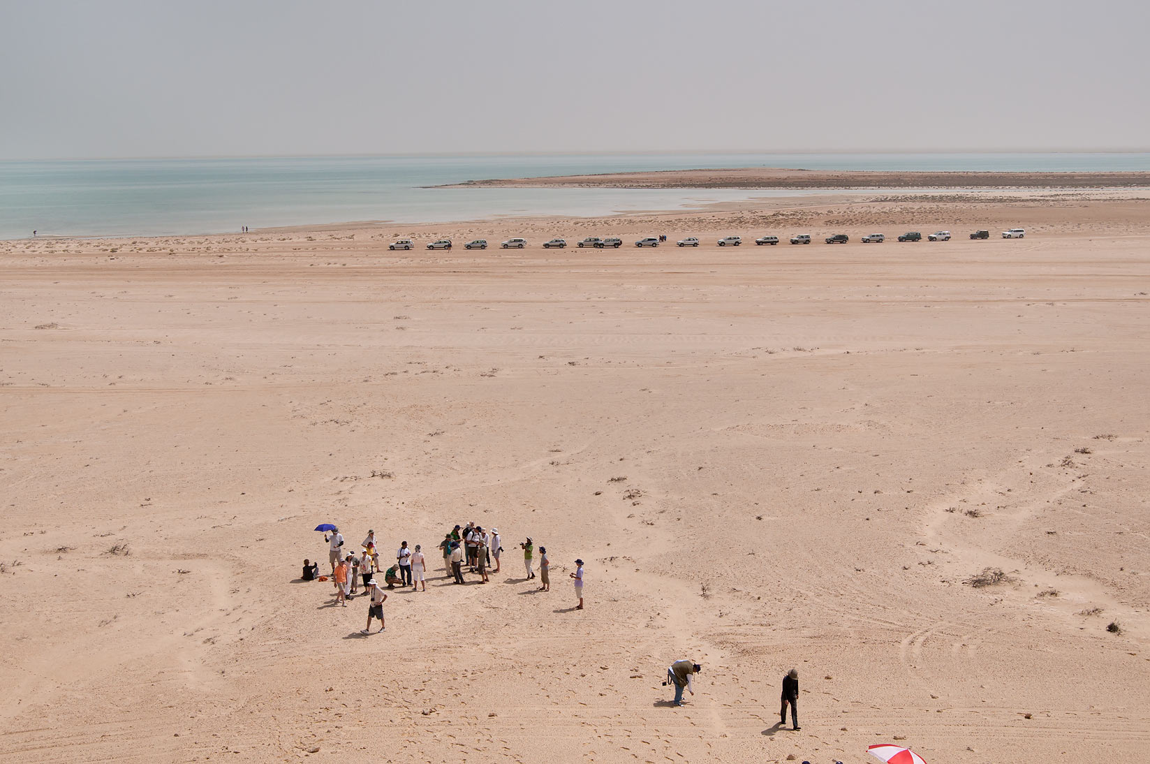 Ras Abrouq peninsula in west central coastal area, north from Zekreet. Qatar