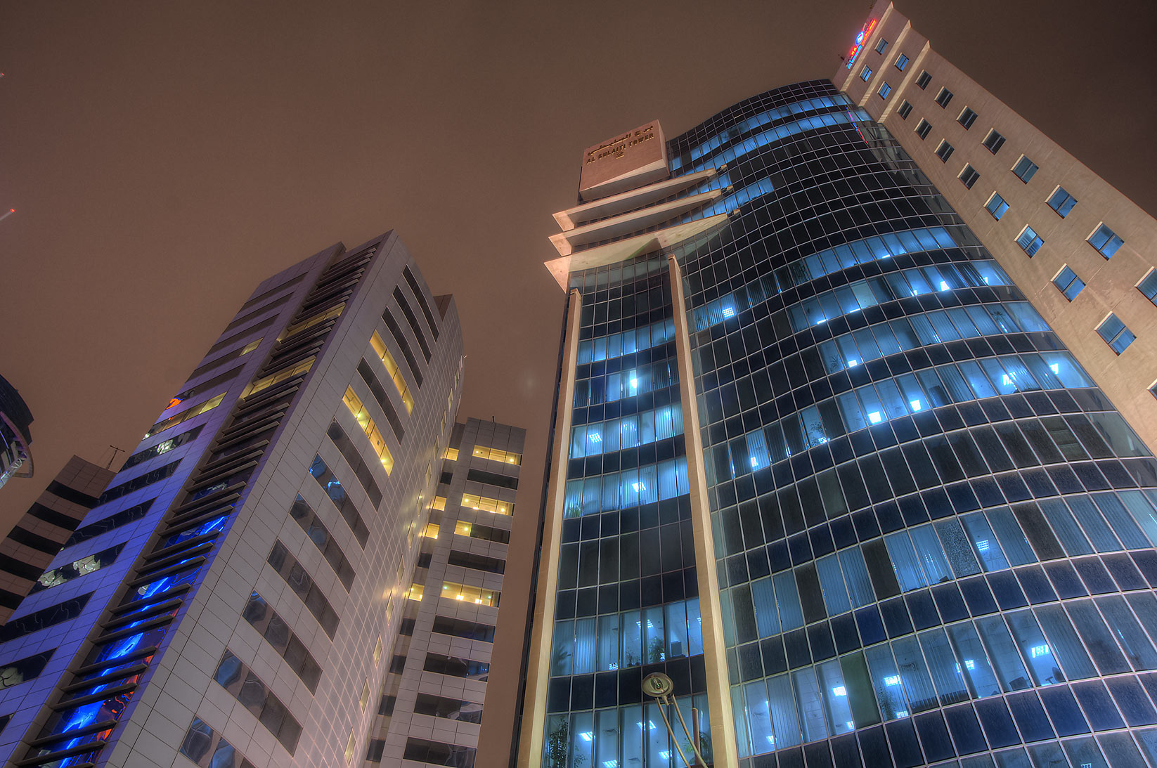 Public Works Authority (Al Faisal Tower East) and...from Sheraton Roundabout. Doha, Qatar