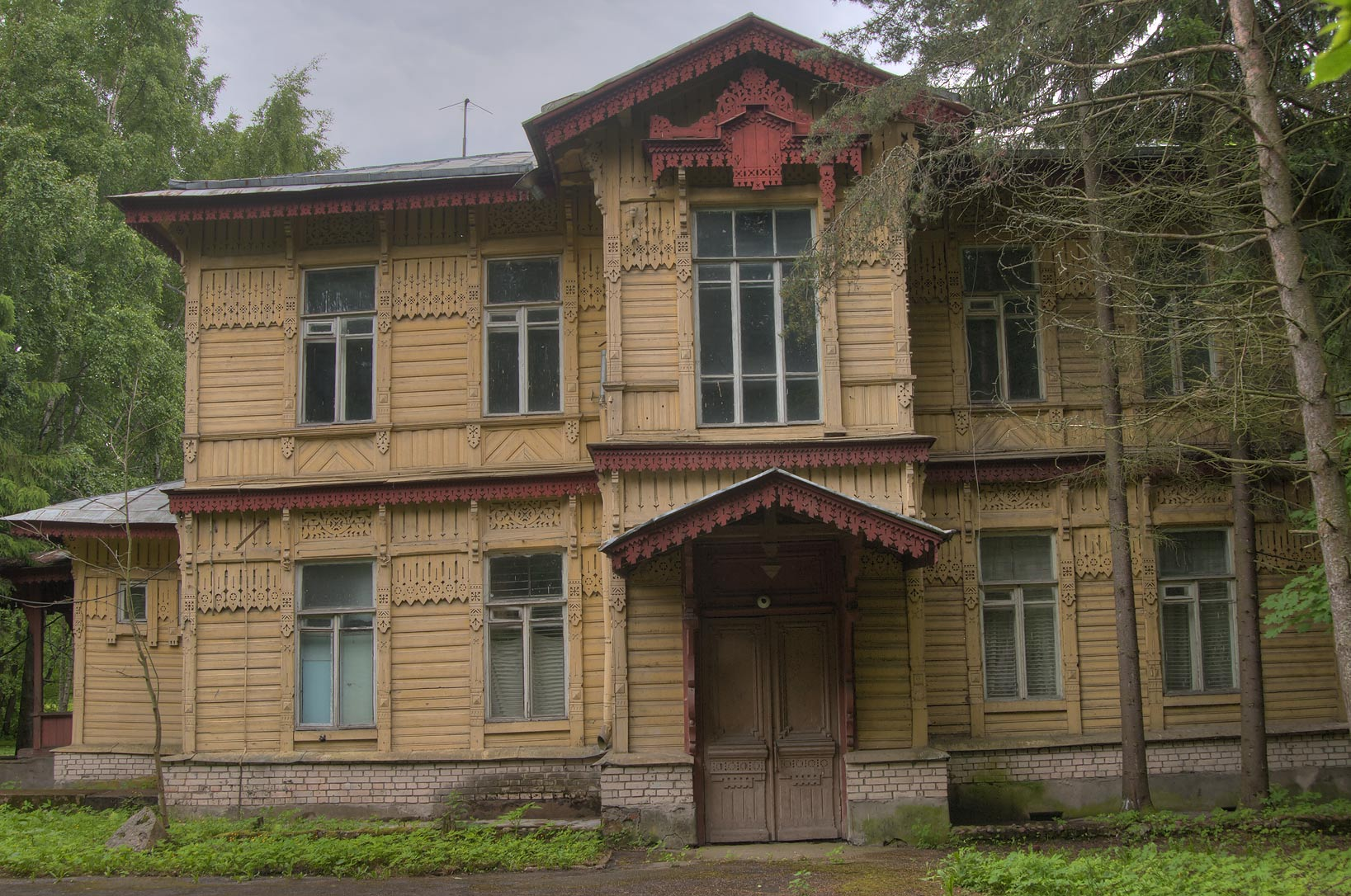 Vereshchagin Cottage (Dacha Vereshchagina) in Kronstadt. St.Petersburg, Russia