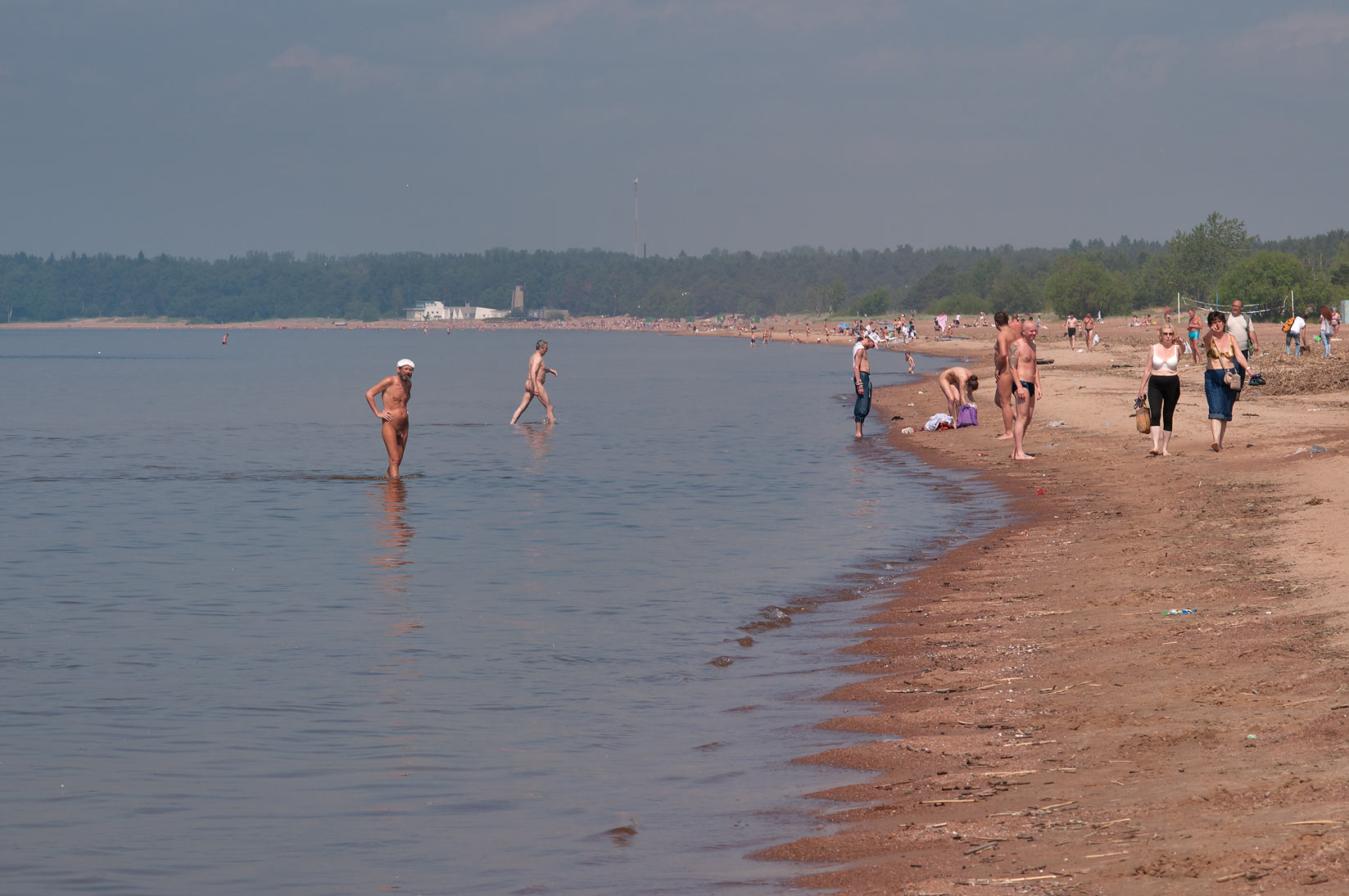 St Petersburgs oldest nudist beach faces closure