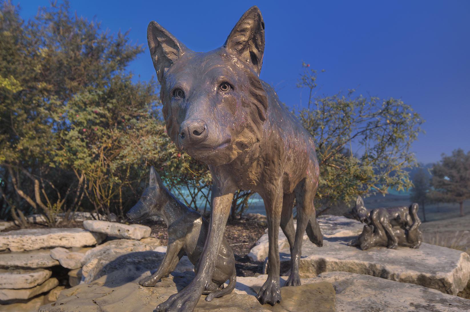 Photo 984 17 Public Sculpture At Entrance Of Wolf Pen Creek Park College Station Texas
