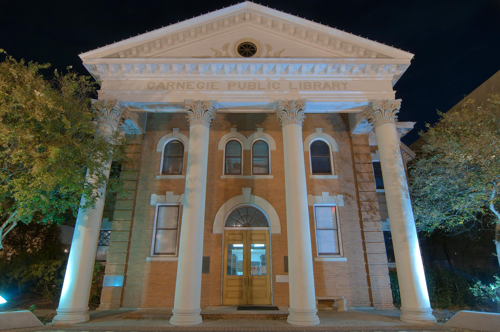 Carnegie Library on Main St.. Bryan, Texas