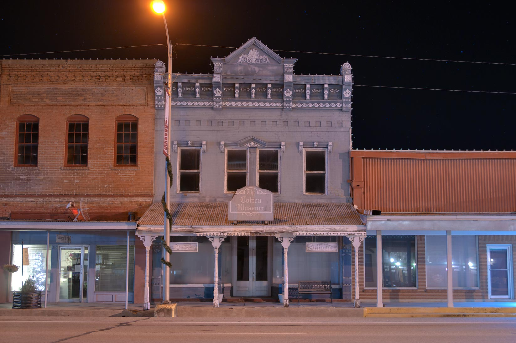 Former dry goods store at 610 Main St.. Calvert, Texas