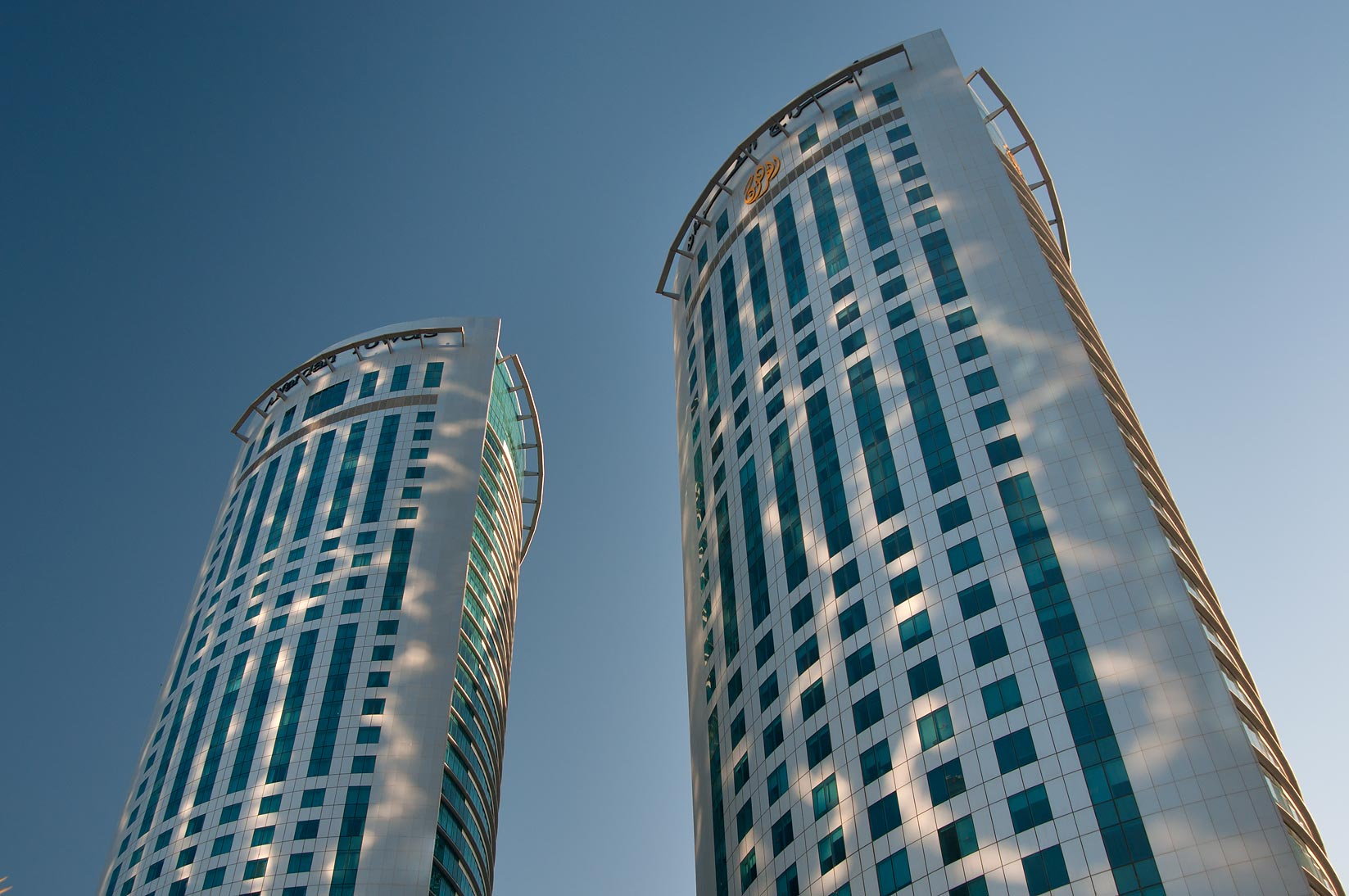 Al Fardan Towers in West Bay. Doha, Qatar
