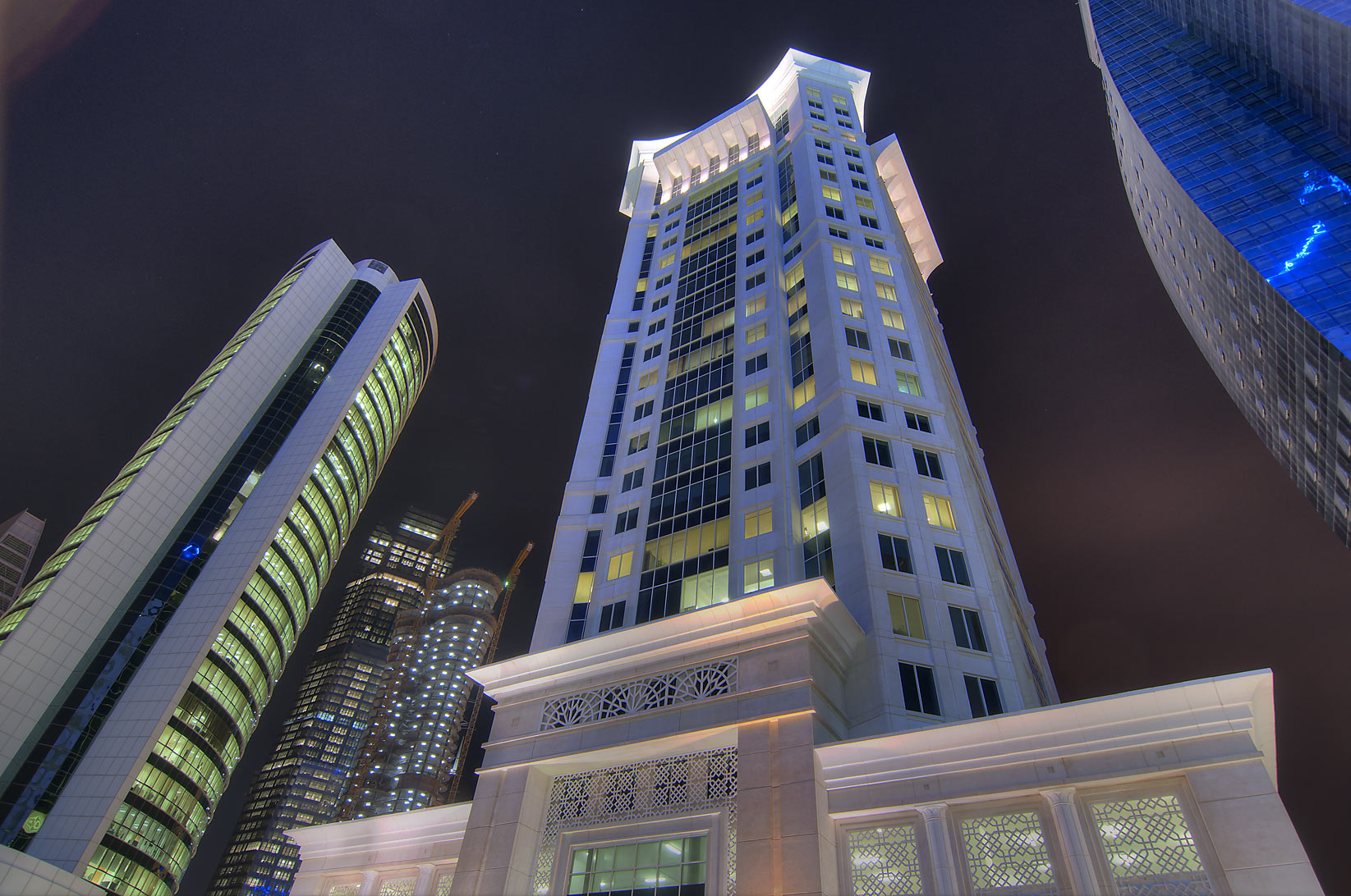 Al Qassar Tower in West Bay. Doha, Qatar