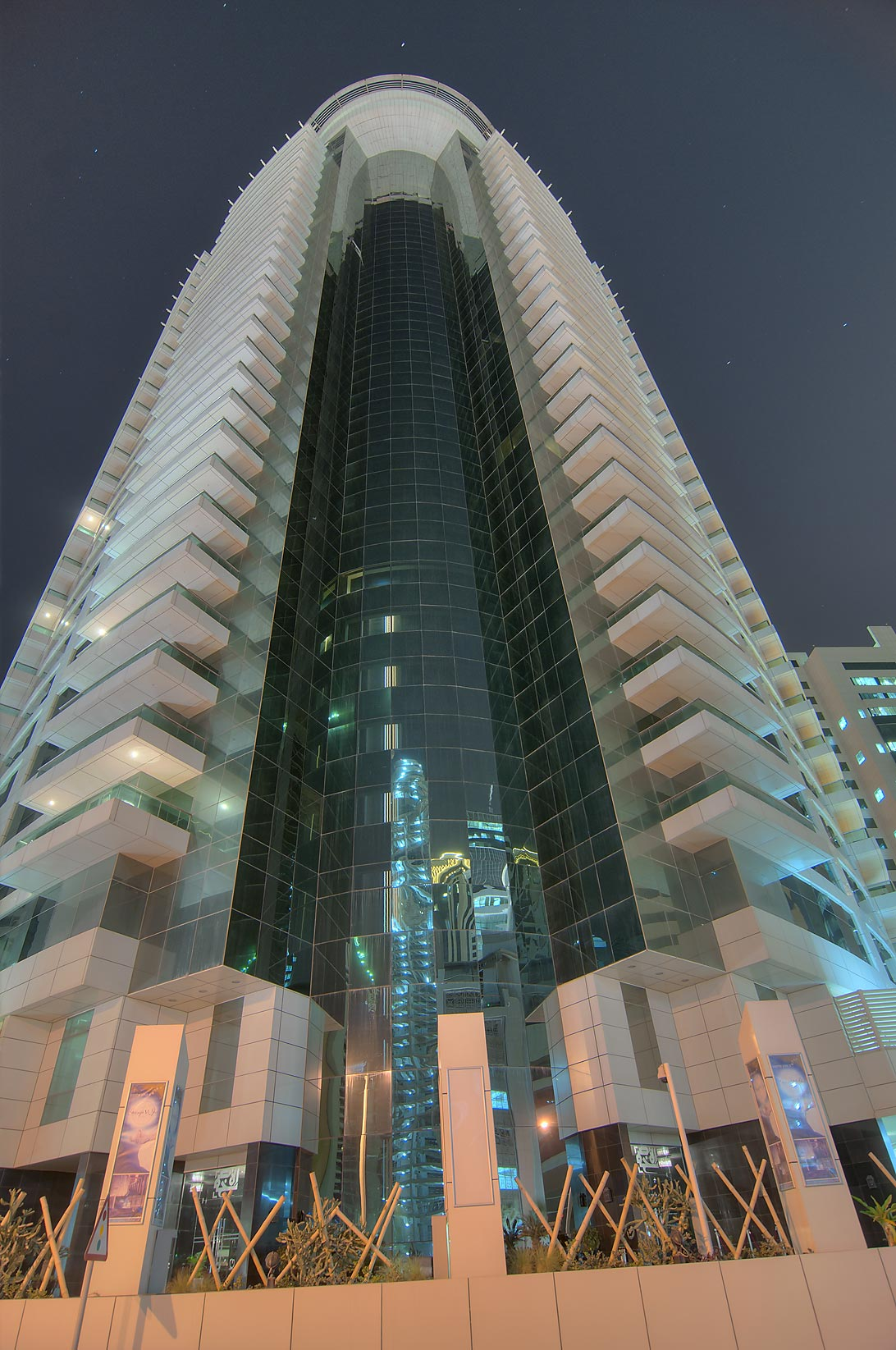 Beverly Hills Tower in West Bay. Doha, Qatar