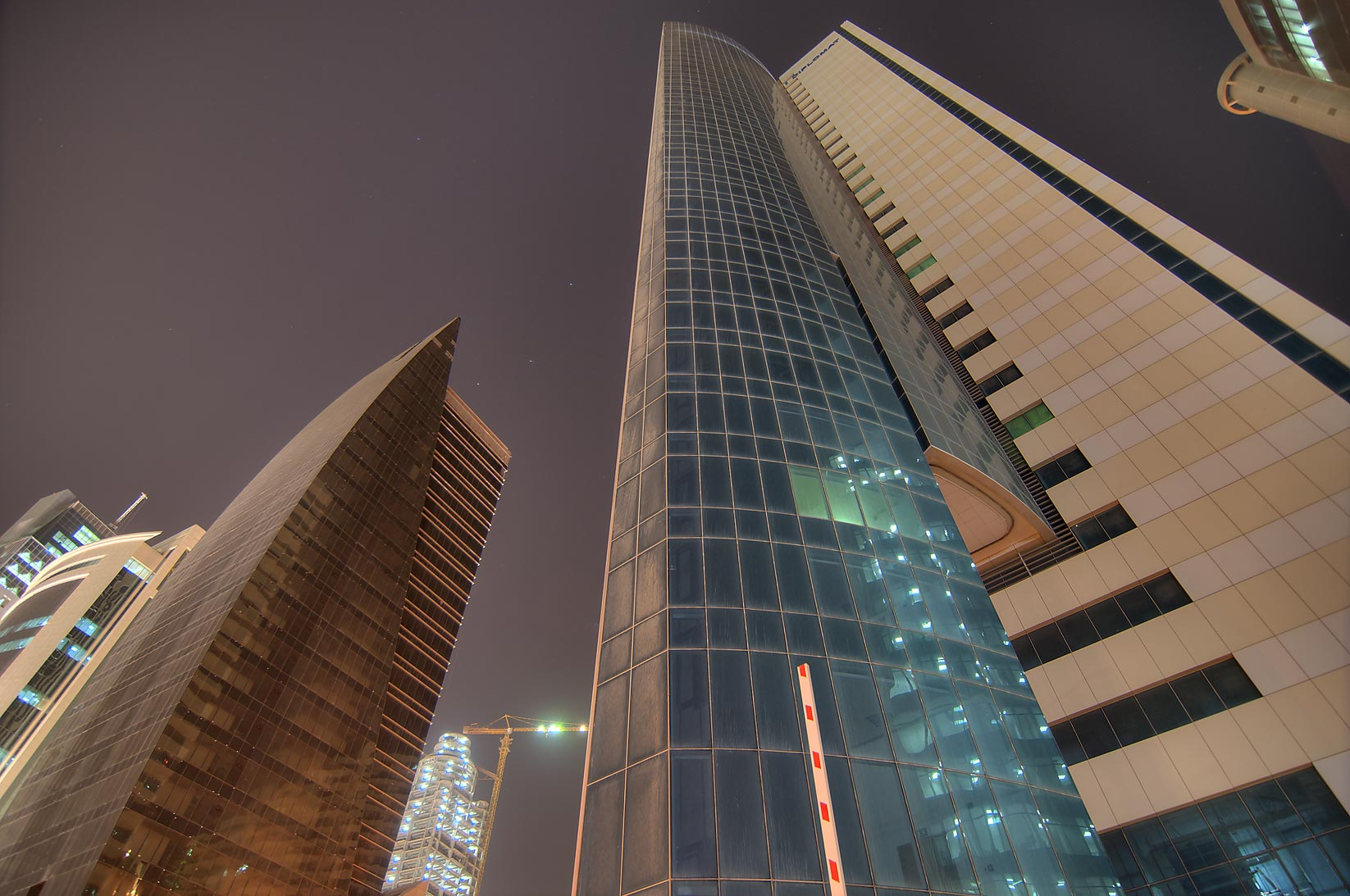 Abdulhani Commercial and RasGas towers in West Bay. Doha, Qatar