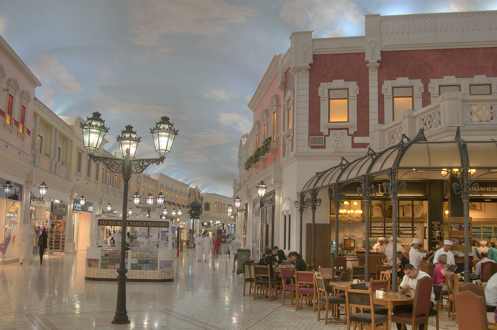 Cafe Paul in Villagio Shopping Mall, Aspire Zone. Doha, Qatar