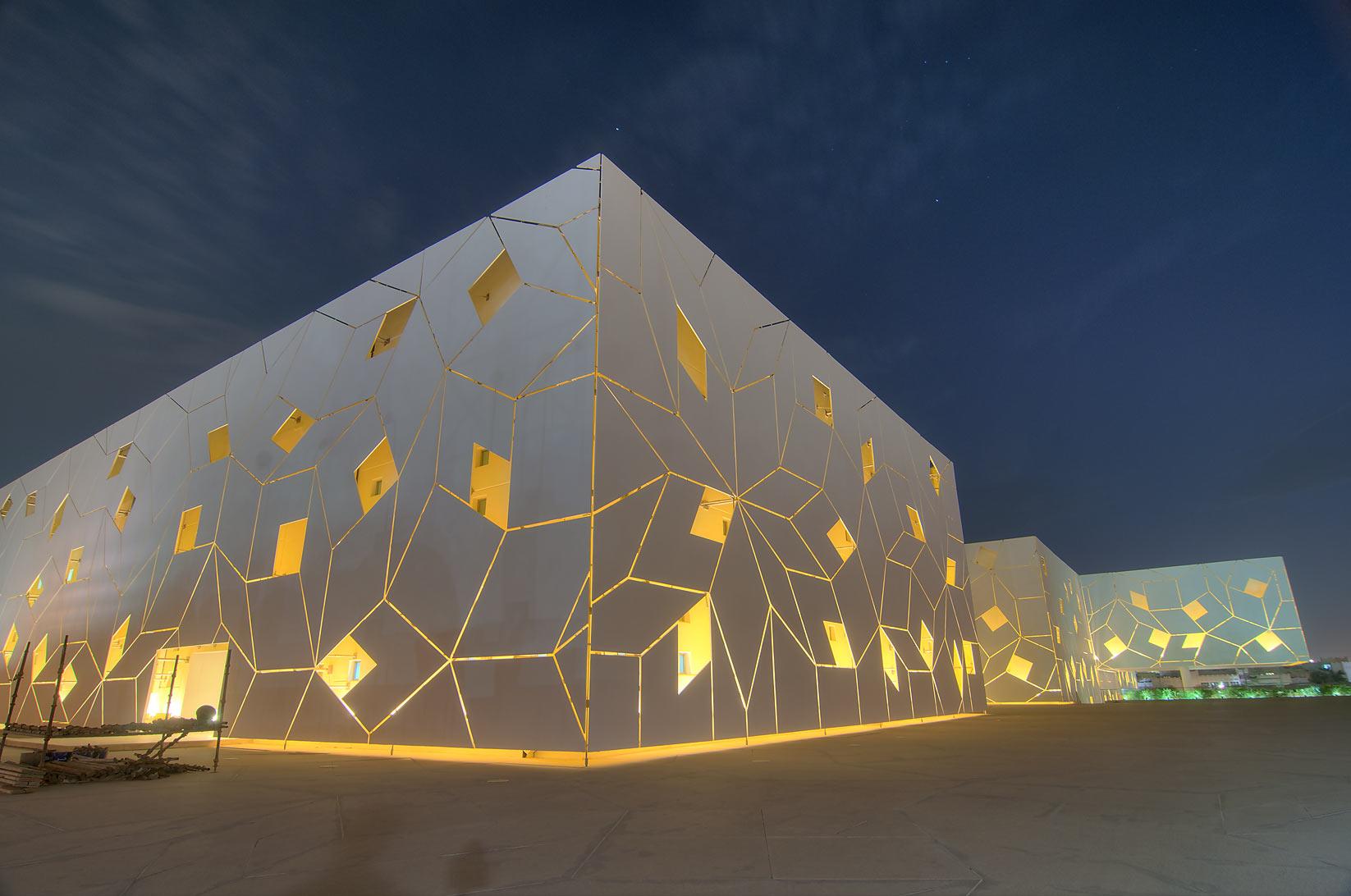 Crystal Building Design