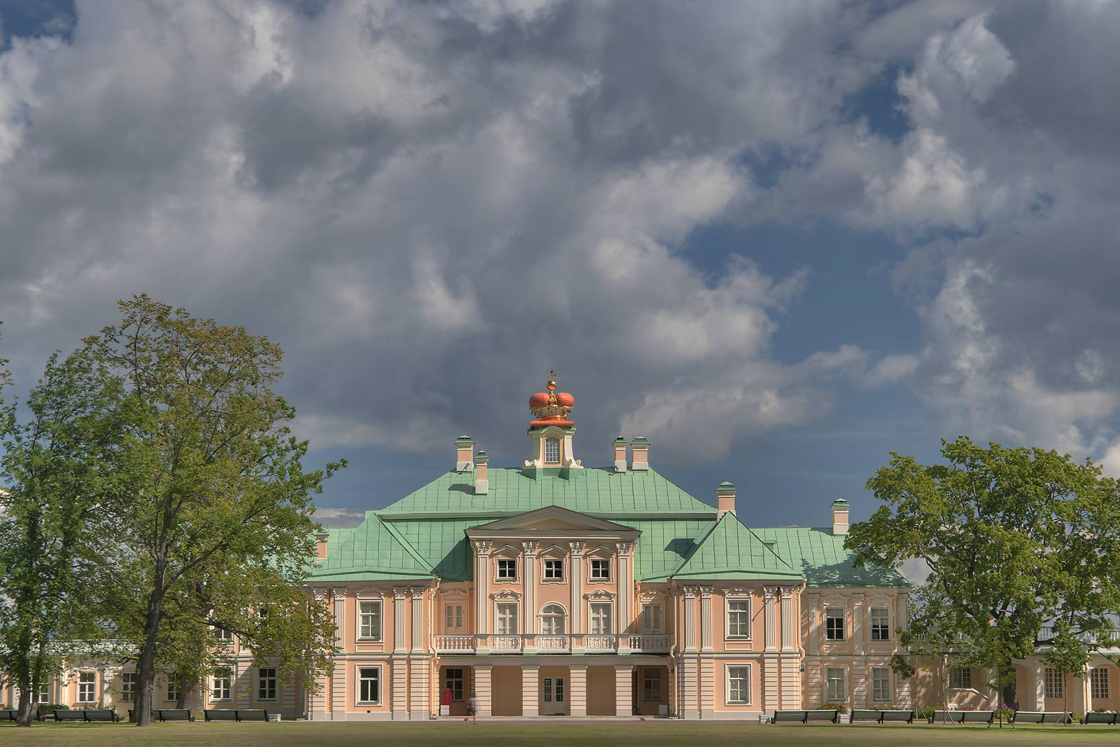 Menshikov Palace. Oranienbaum (Lomonosov), 20 miles west from St.Petersburg, Russia