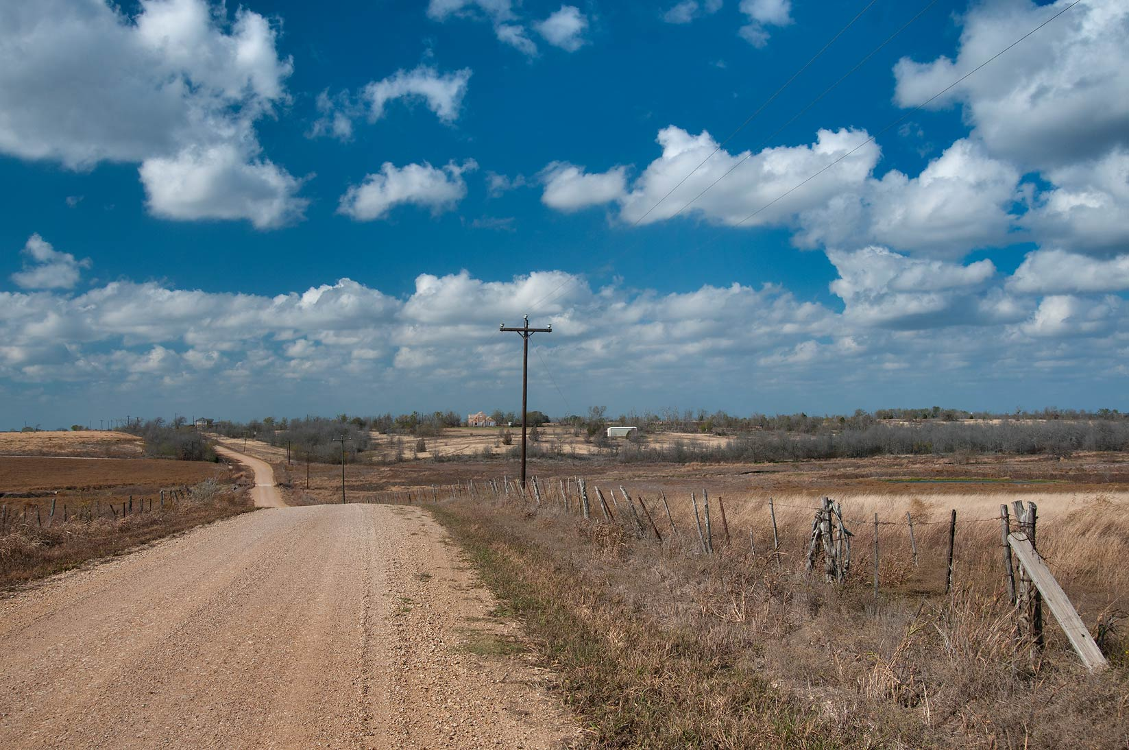 College Station-Bryant Station, Texas  - County Rd. 112 near Buckholts. Texas