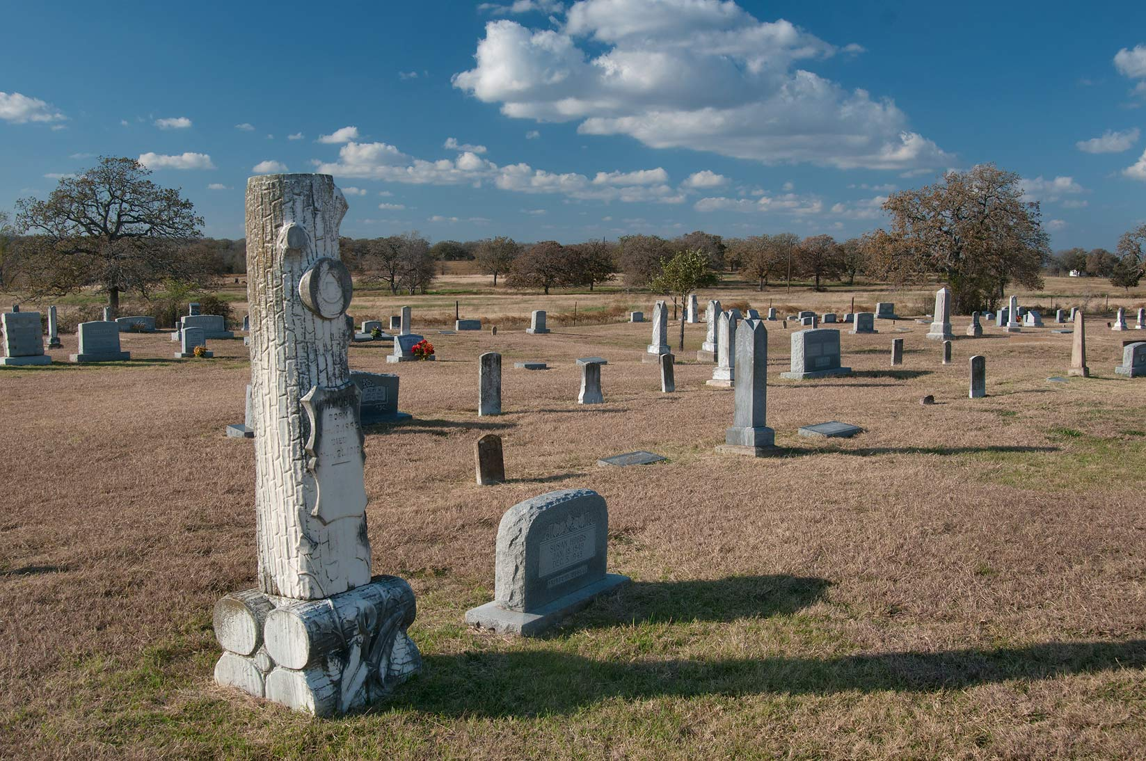 Bryant Station - Bryan, Texas  - Sharp Cemetery at Rd. FM 487. Texas
