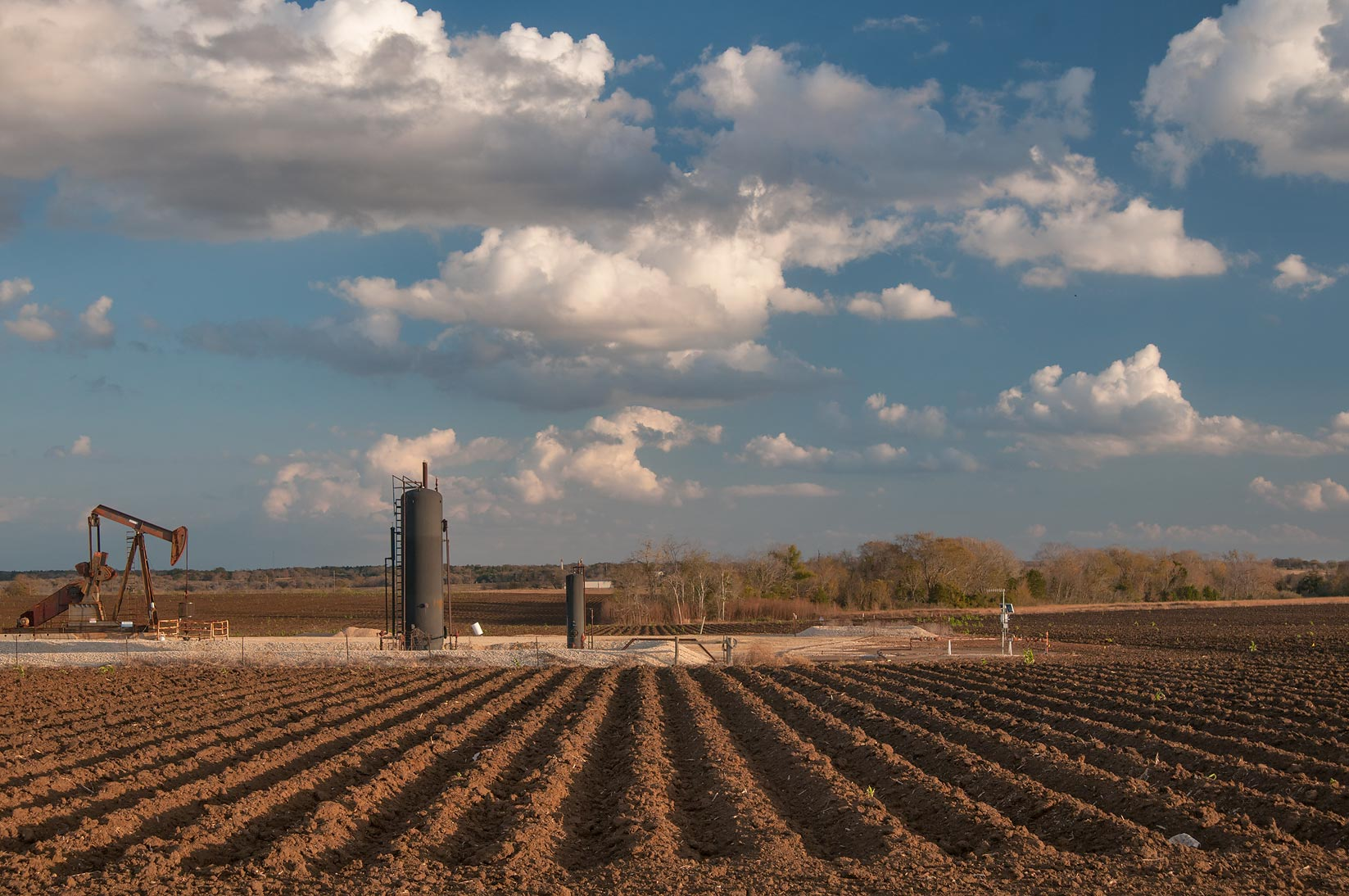 Fields near Rd. 21 north from Caldwell. Texas