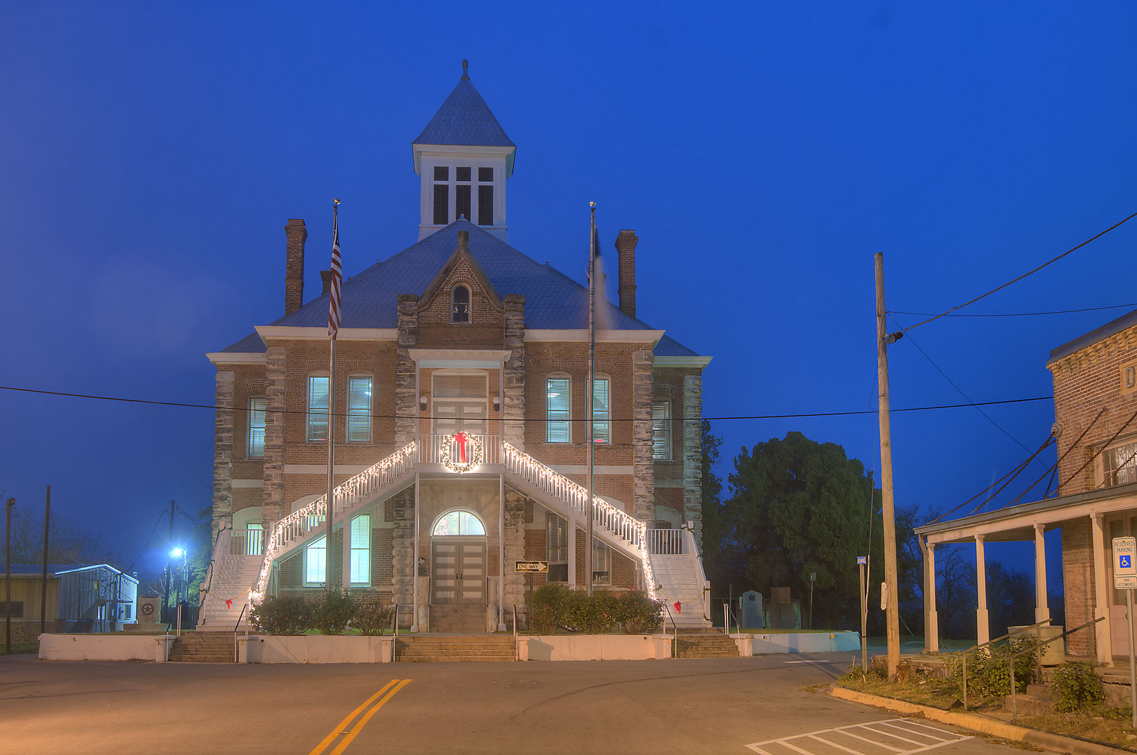Grimes County Courthouse at 100 Main St.. Anderson, Texas