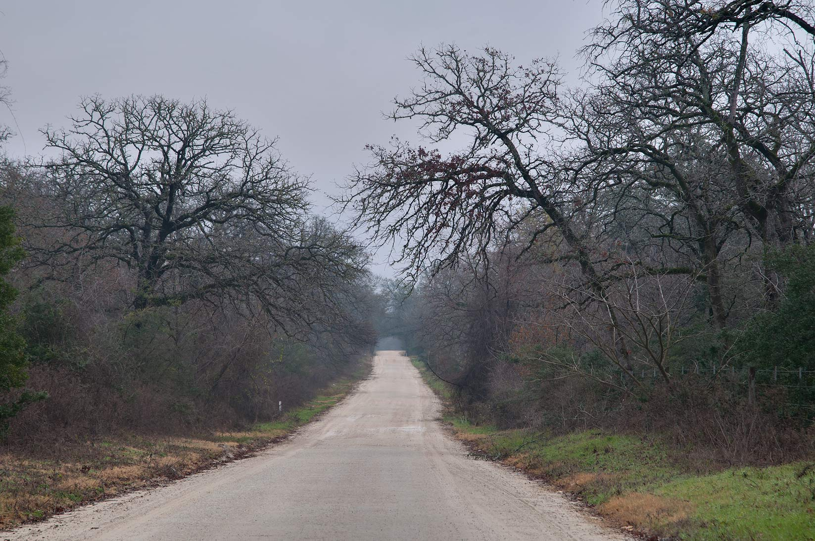 Bryan, Texas  - County Rd. 101 west from Cross. Texas