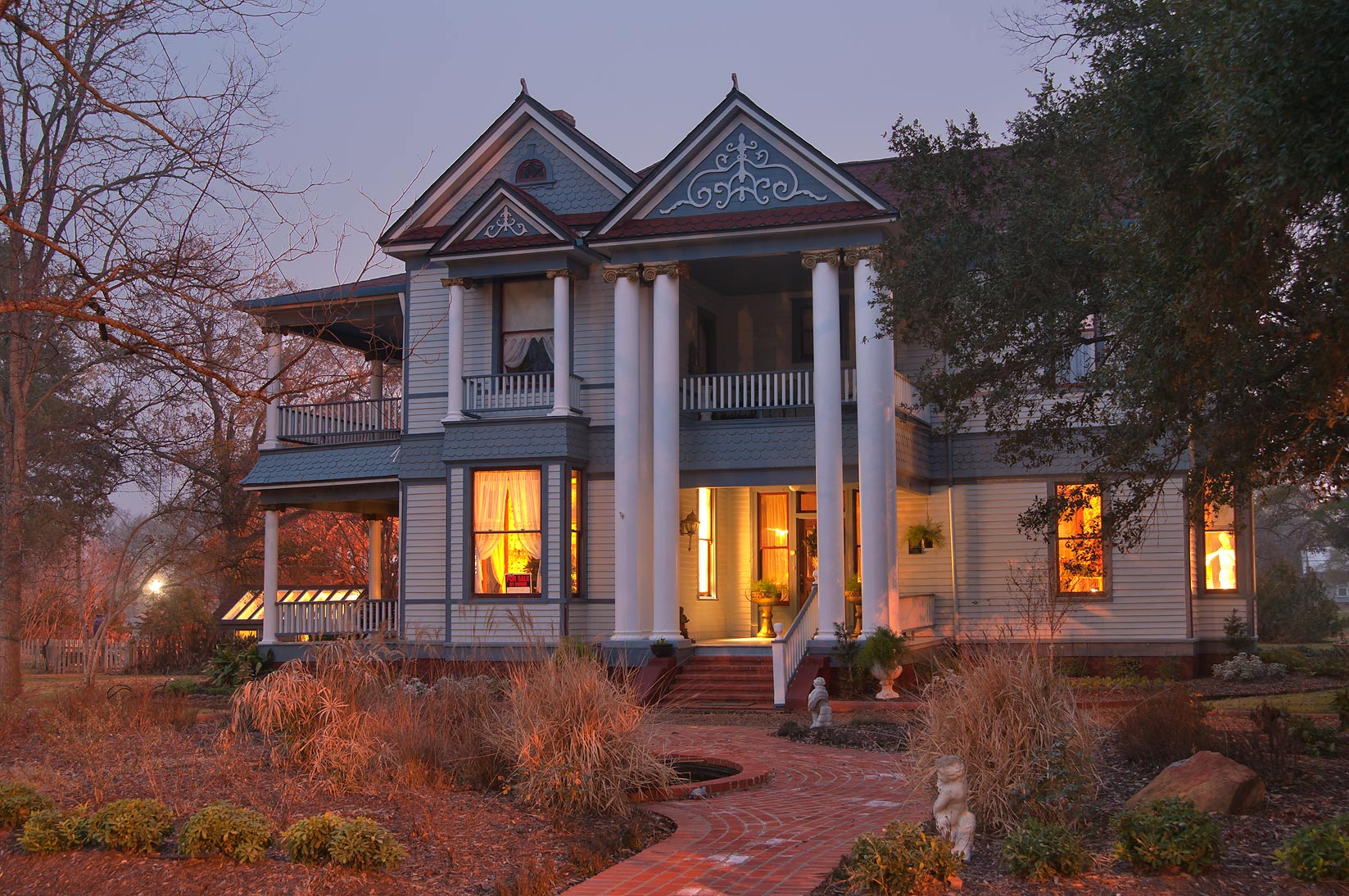Calvert Inn (P. C. Gibson House, c. 1903) at 406 East Texas St.. Calvert, Texas
