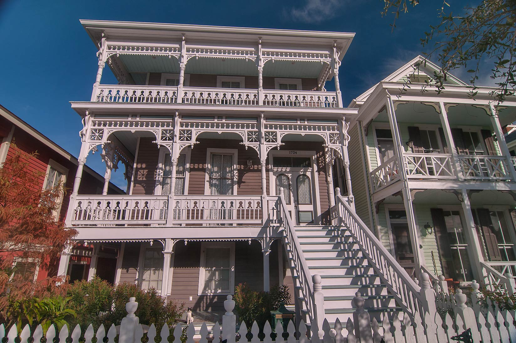 1728 Ball St. in East End Historic District. Galveston, Texas
