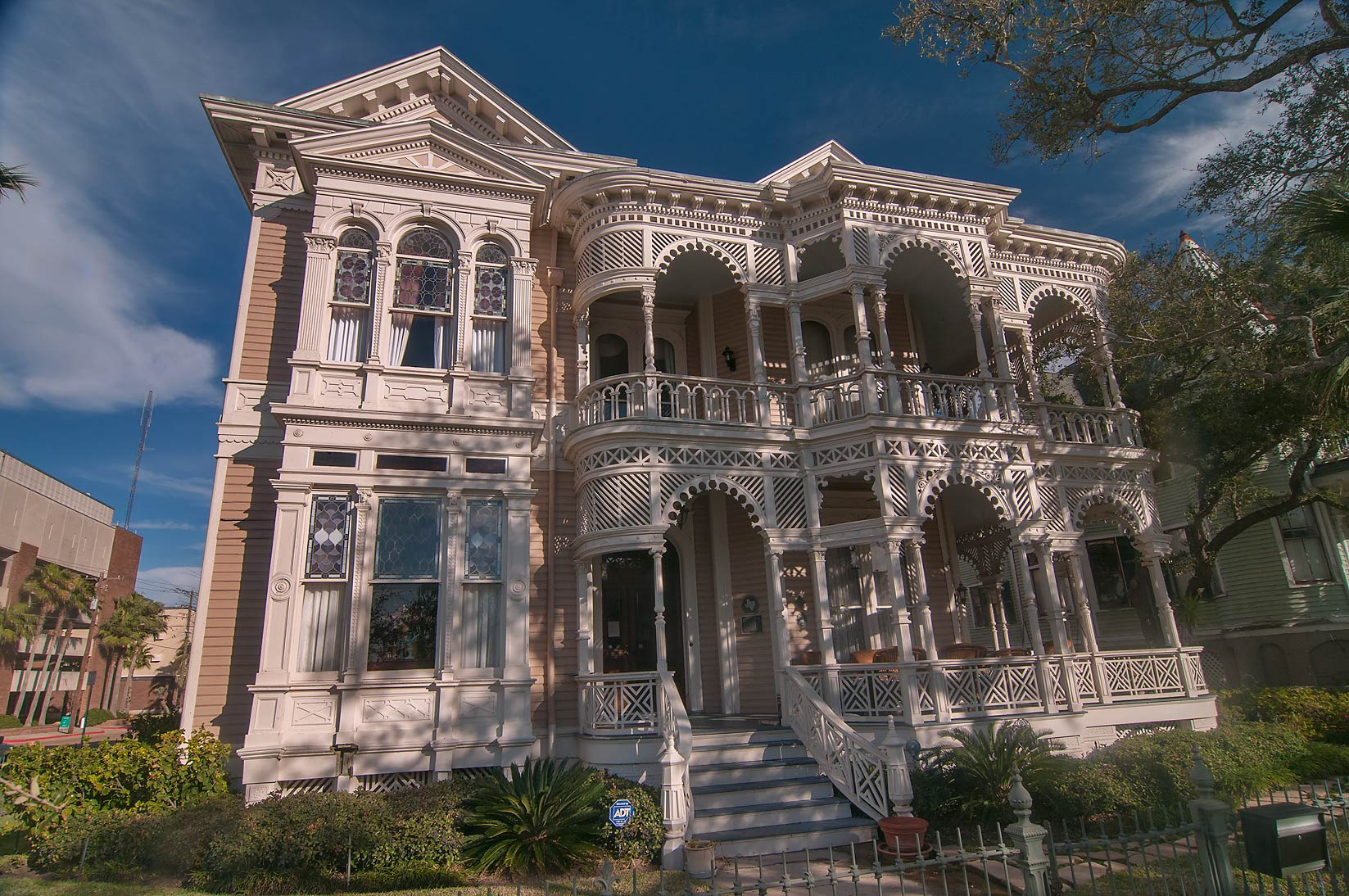 Sonnentheil House (1886-7) at 1826 Sealy St. in...Historic District. Galveston, Texas