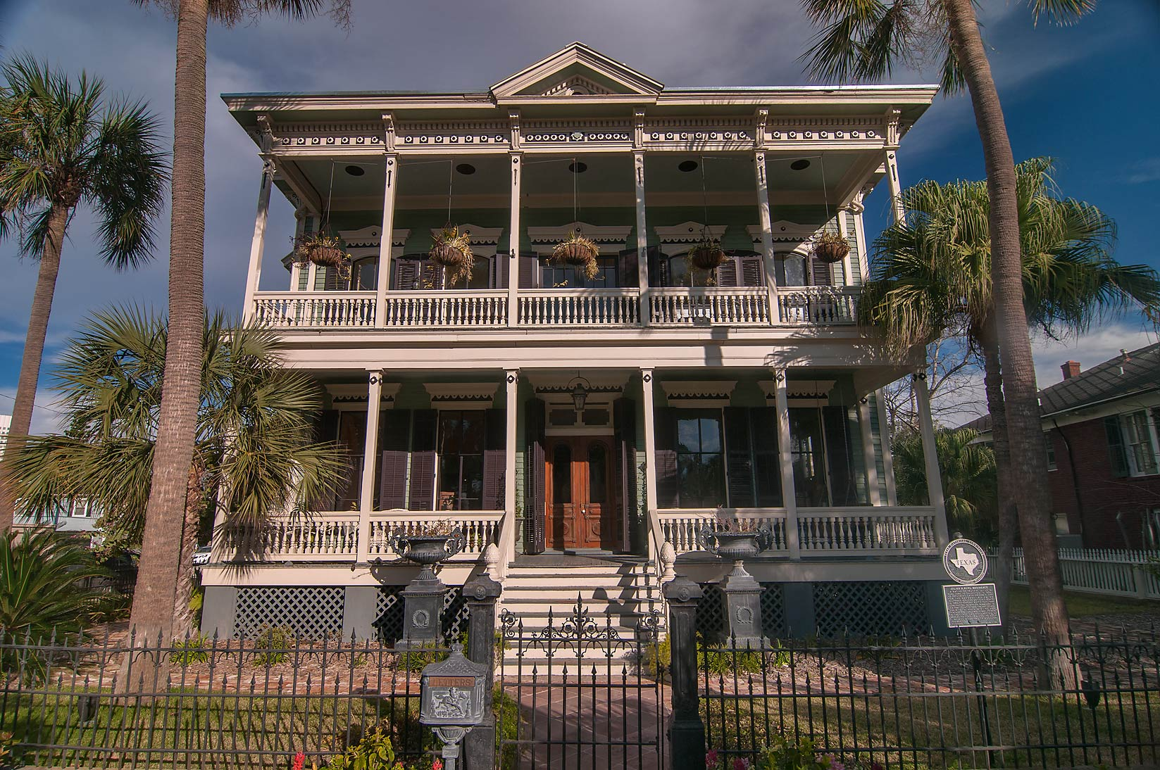 Julius H. Ruhl Residence at 1412 Sealy Ave. in...Historic District. Galveston, Texas