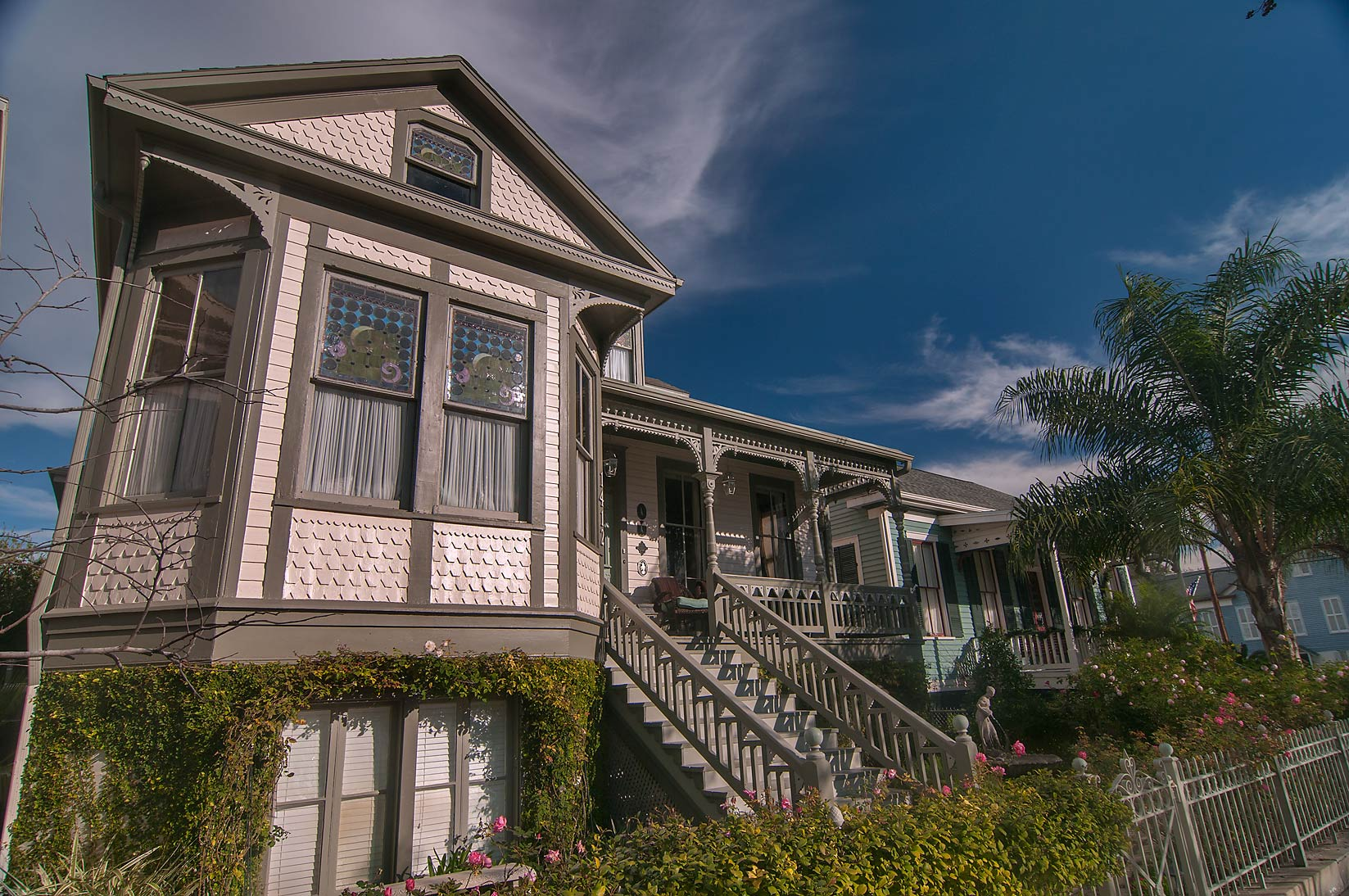 1412 Sealy Ave. in East End Historic District. Galveston, Texas