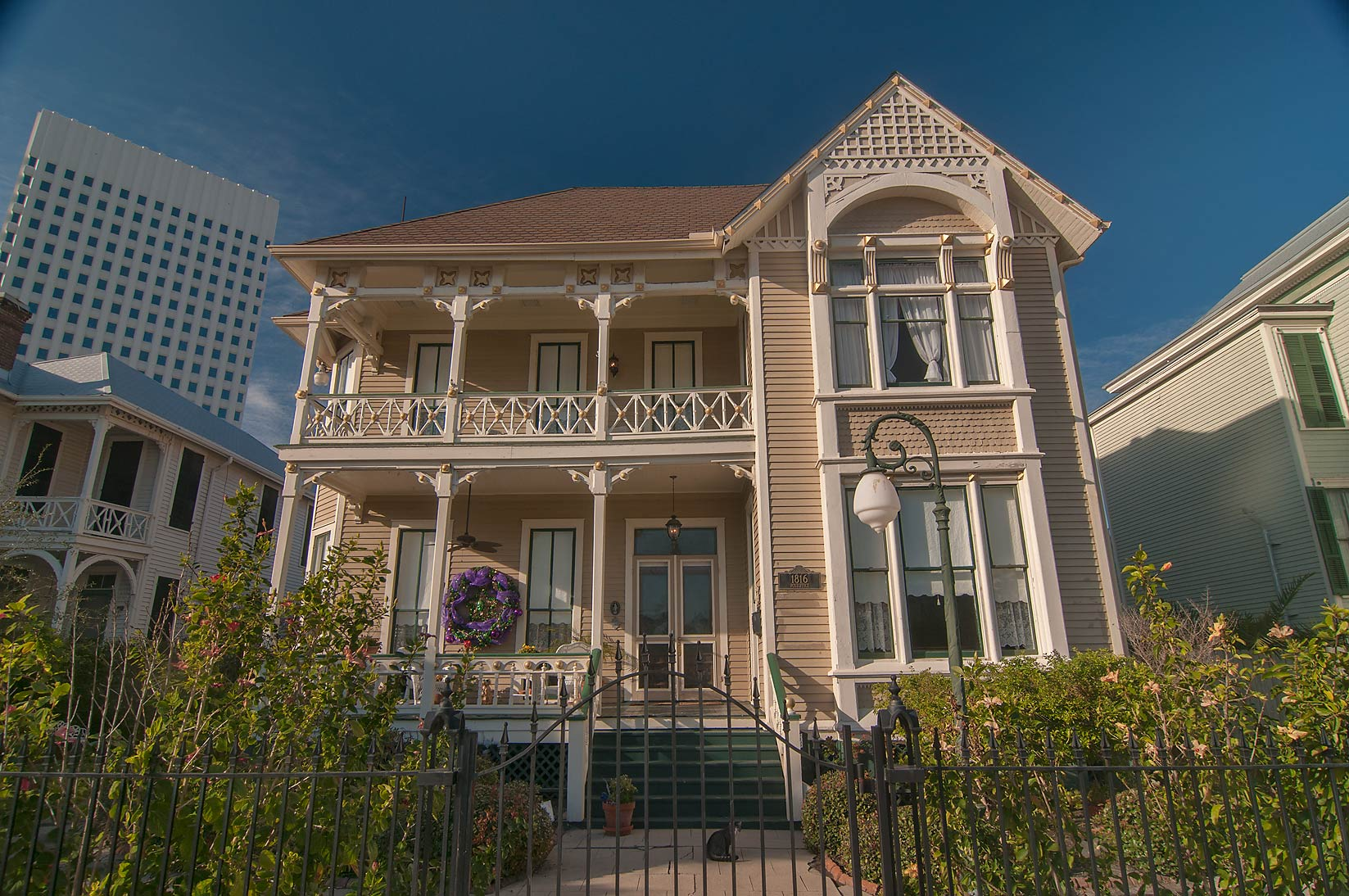 Galveston, East End Historic District, Texas  - Area of 1816 Ave. E. Galveston, Texas