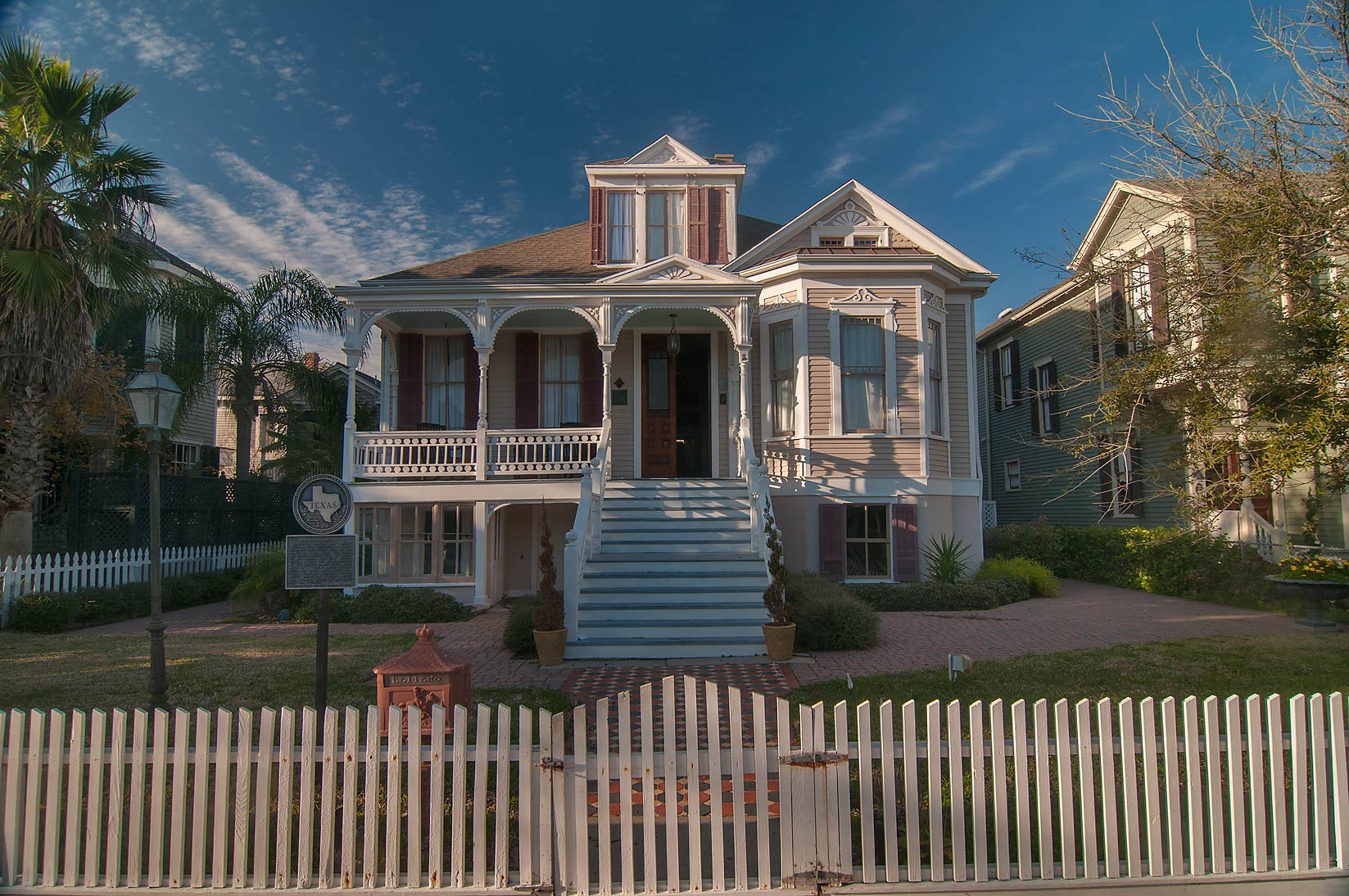 A house at 1920 Ball St.. Galveston, Texas