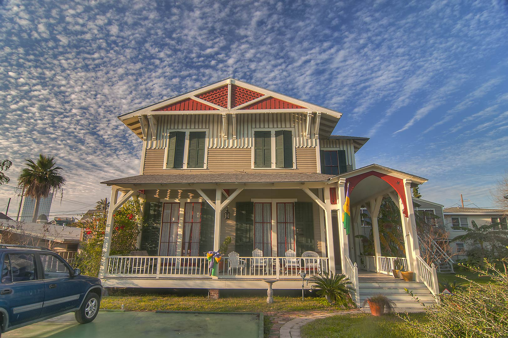 A house at 1500-1598 Sealy Ave.. Galveston, Texas