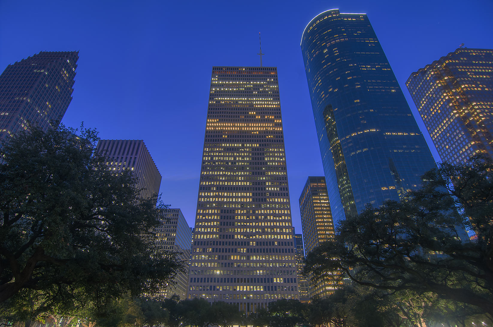 Houston, Texas  - Hermann Square. Houston, Texas